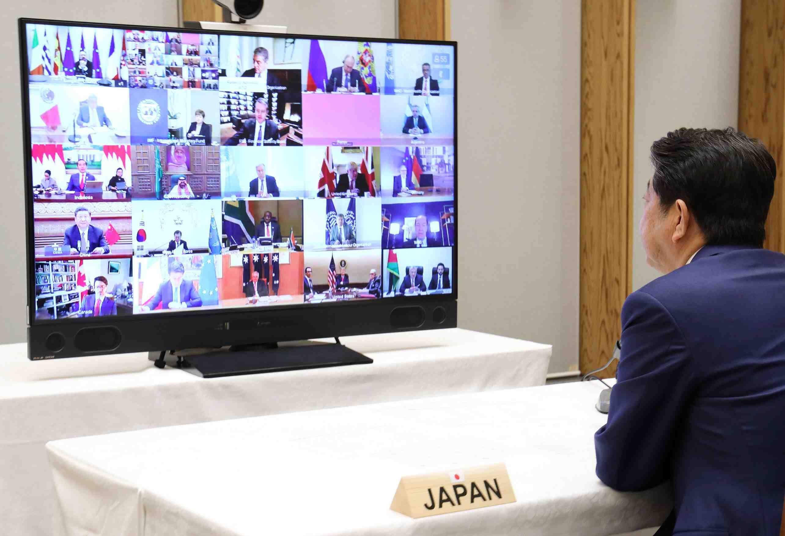 Japan PM Shinzo Abe Coronavirus 002