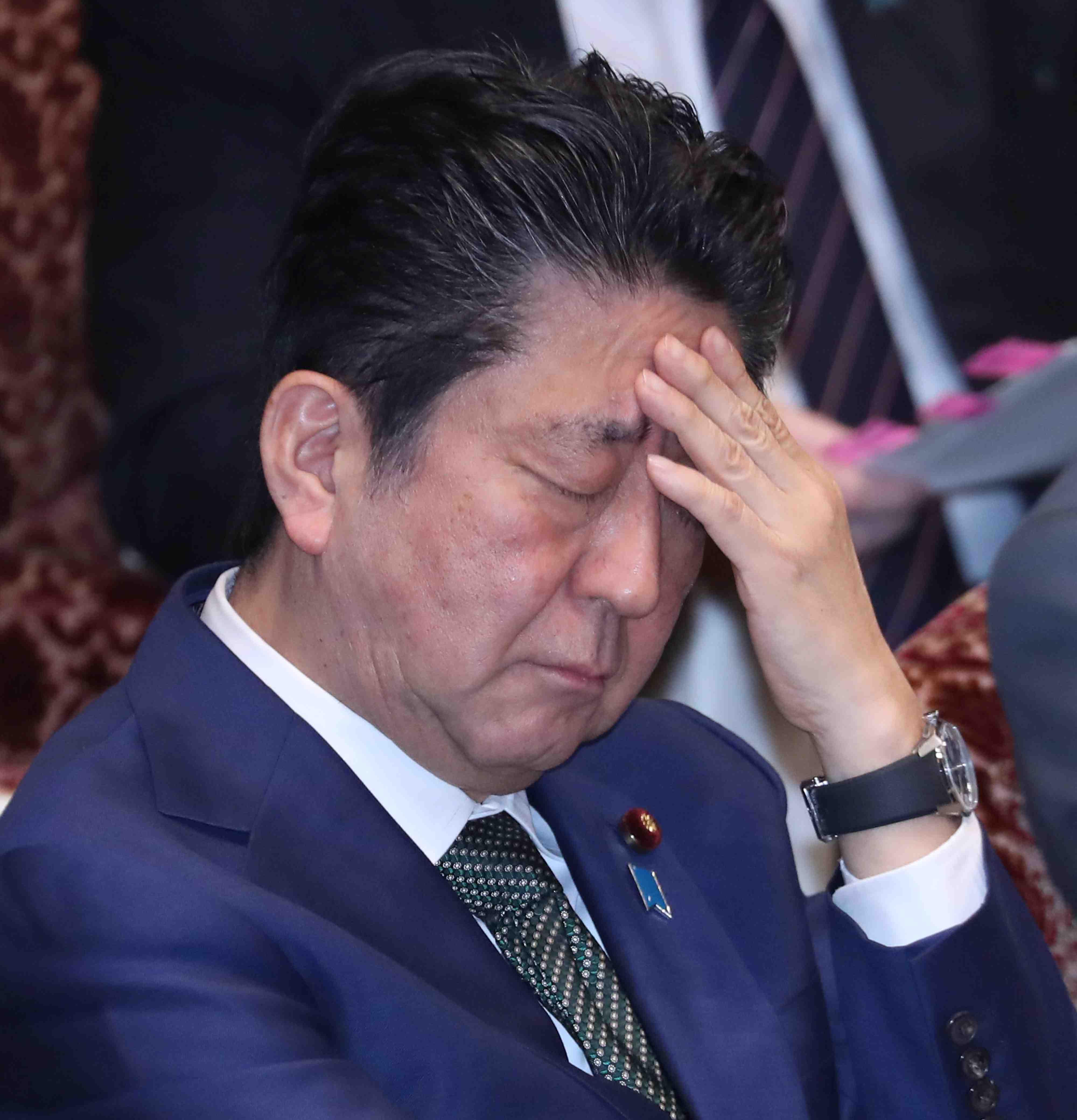 Japan PM Shinzo Abe Coronavirus