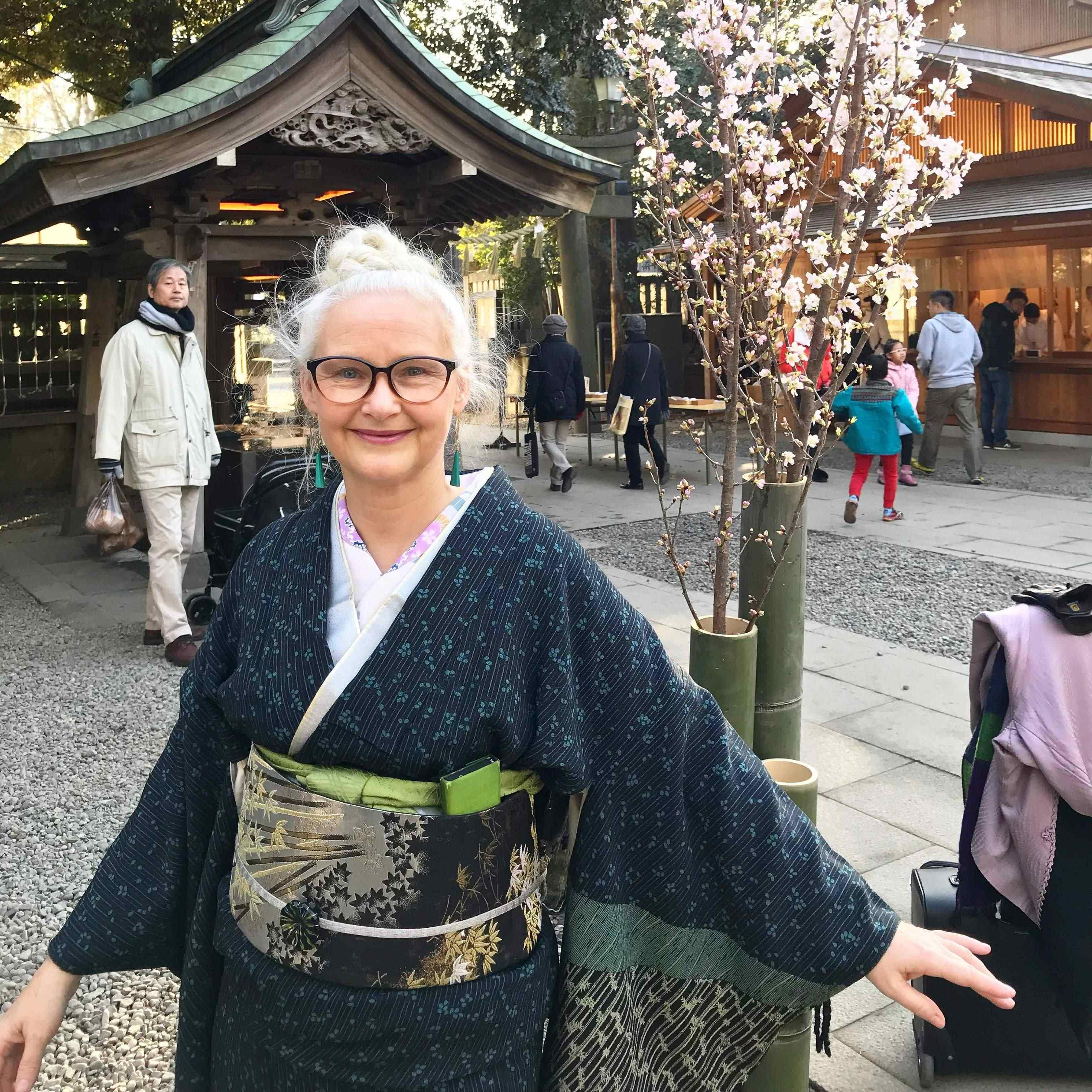 Kimono Cherry Blossom4