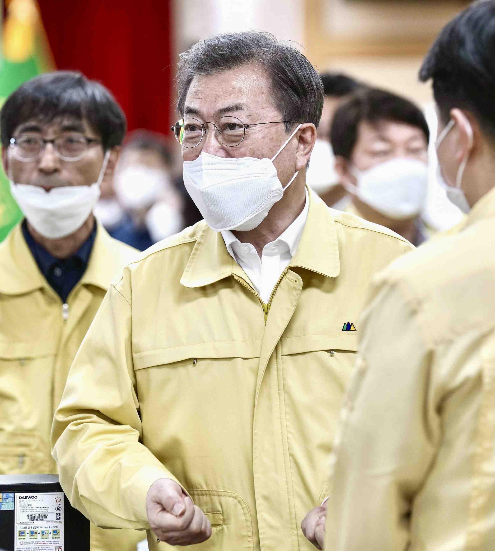 South Korea Election and Coronavirus 010
