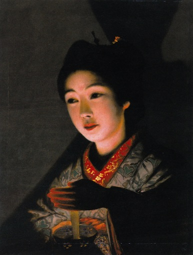 Tomoshibi_o_motsu_otome_by_Yamamoto_Hōsui