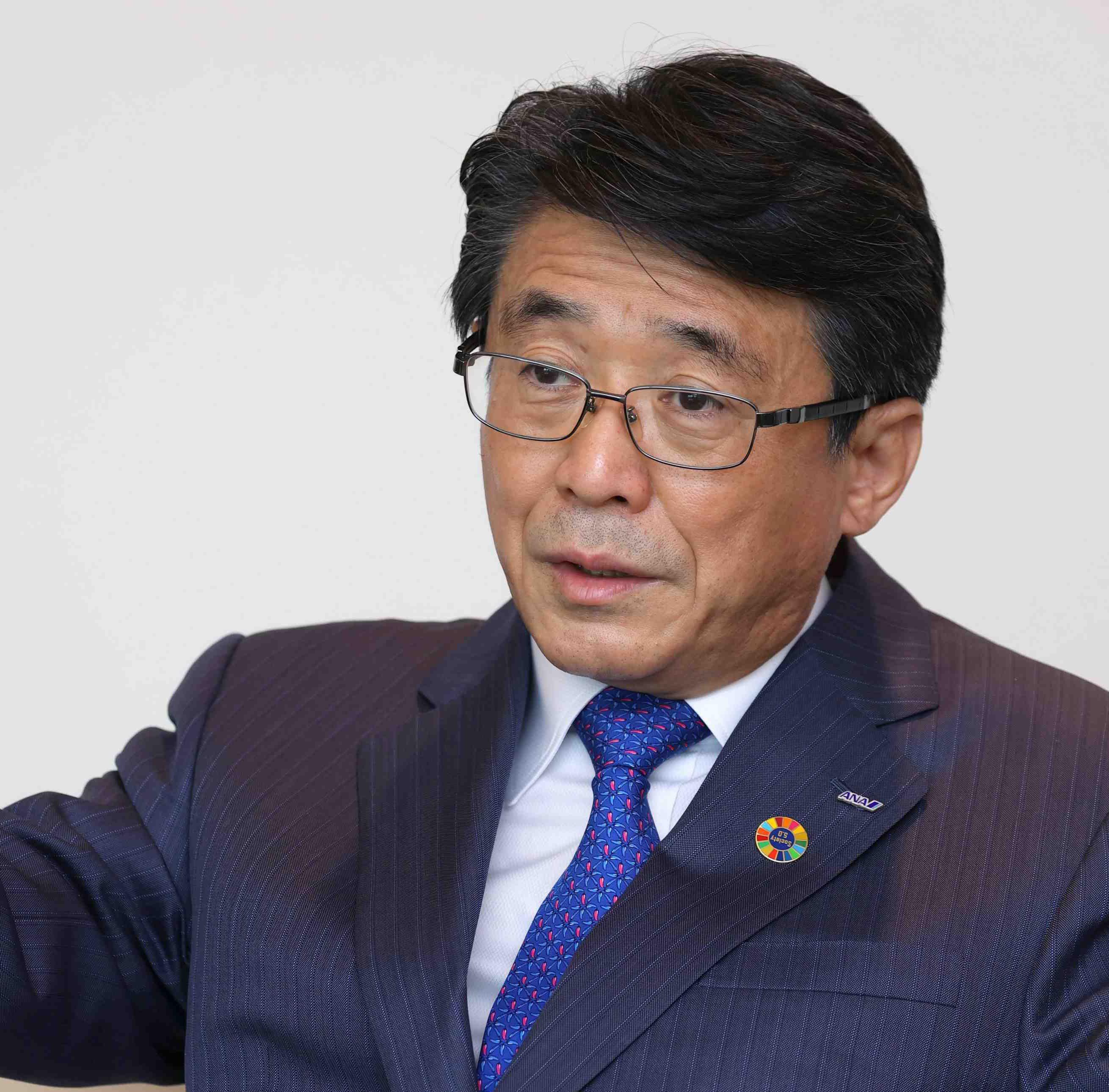 Coronavirus Interview ANA CEO Shinya Katanozaka
