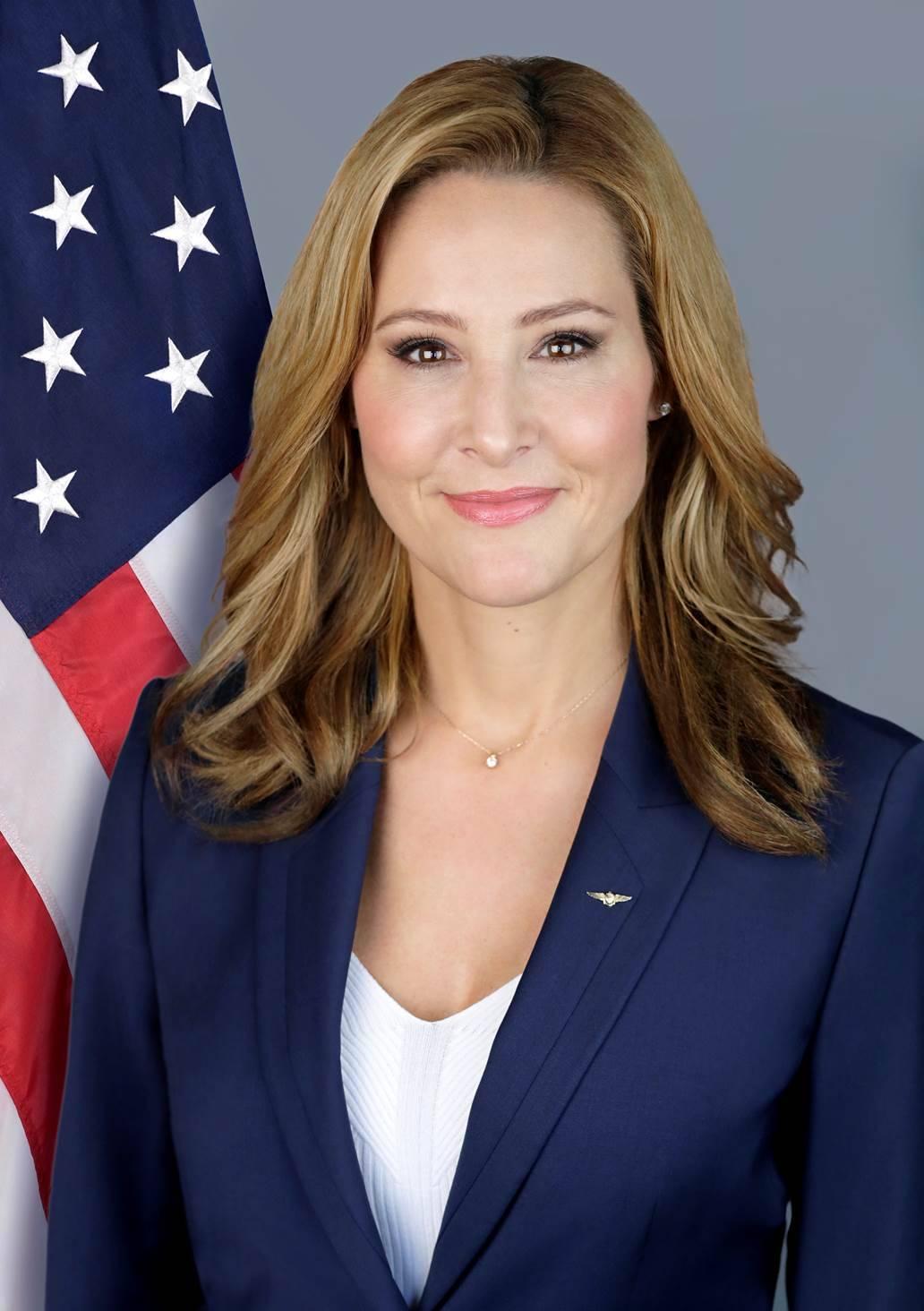 U.S. GEC's special envoy and coordinator Lea Gabrielle