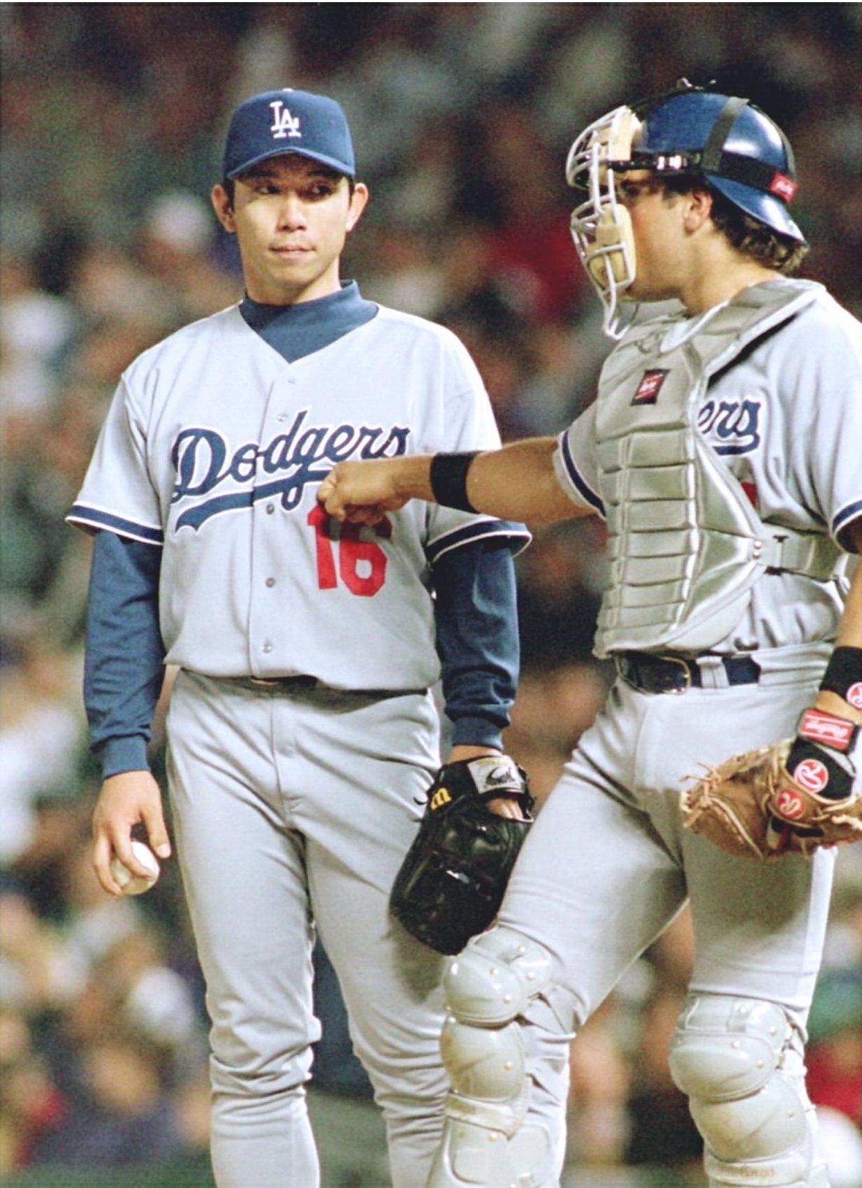 Baseball MLB Nomo Los Angeles Dodgers 003