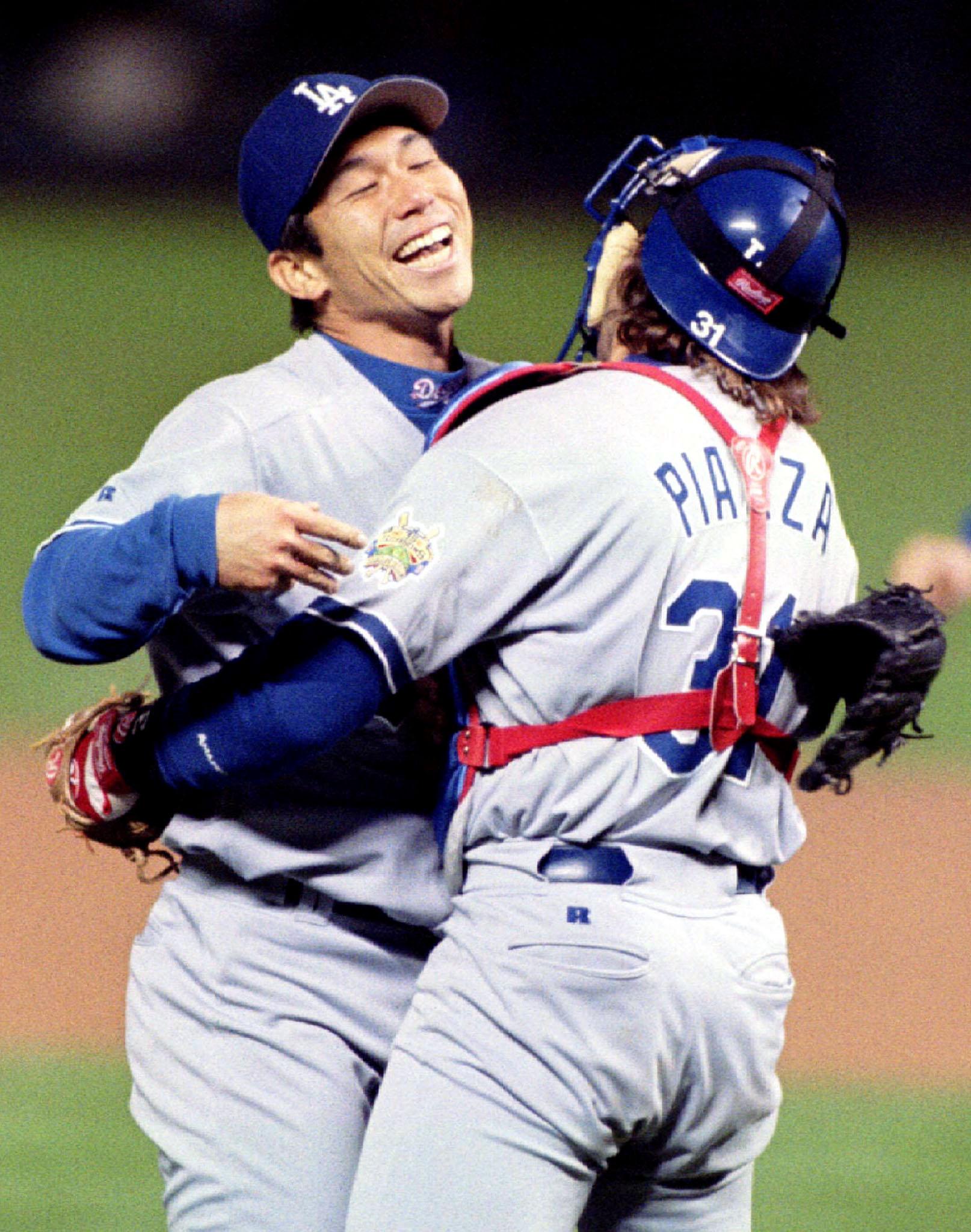 Baseball MLB Nomo Los Angeles Dodgers 009