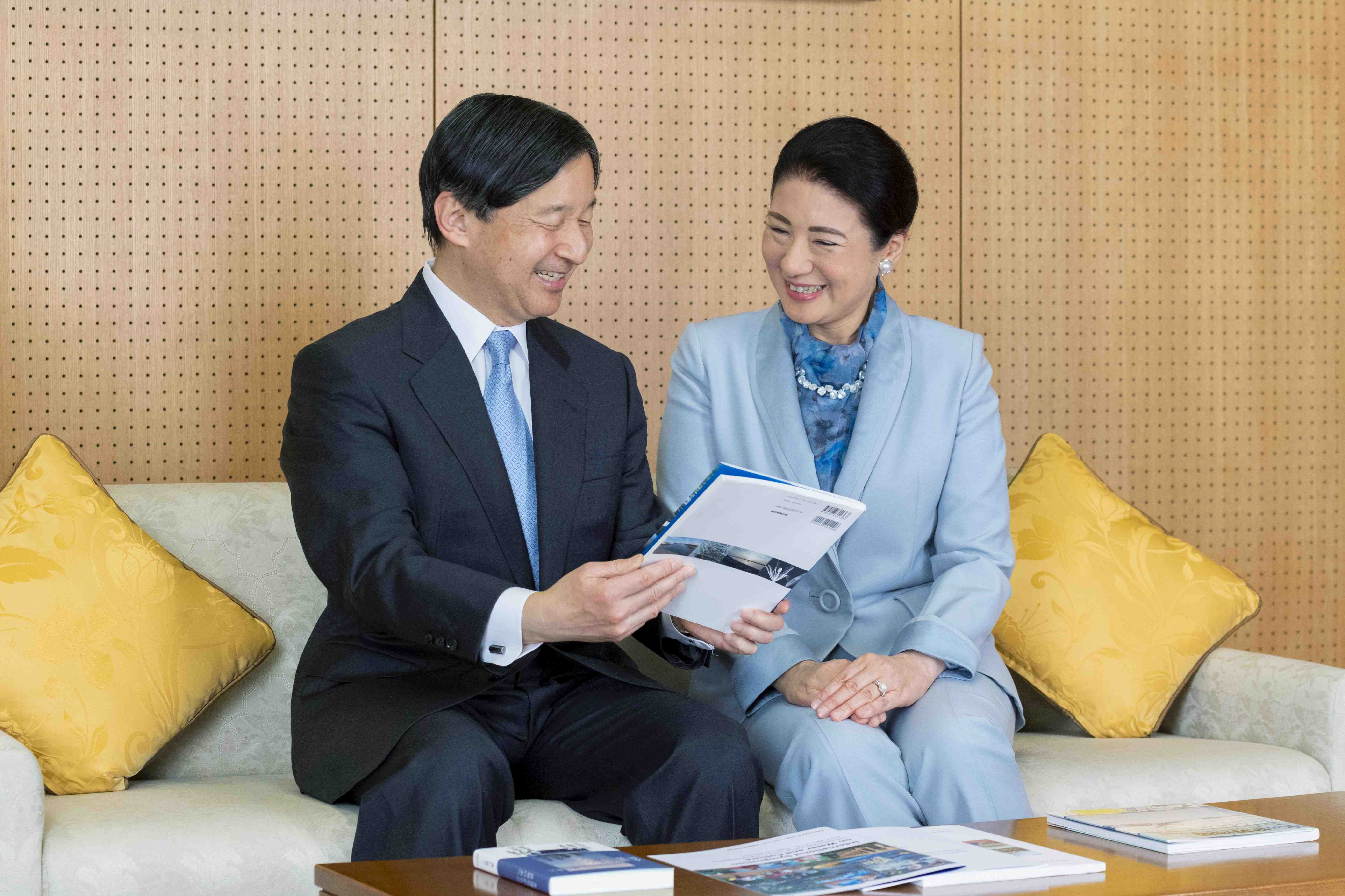 Japan Emperor and Empress Masako