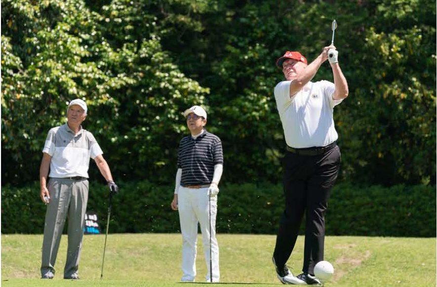 Aoki w President_Trump_and_Prime_Minister_Abe_Golfing_(47938161