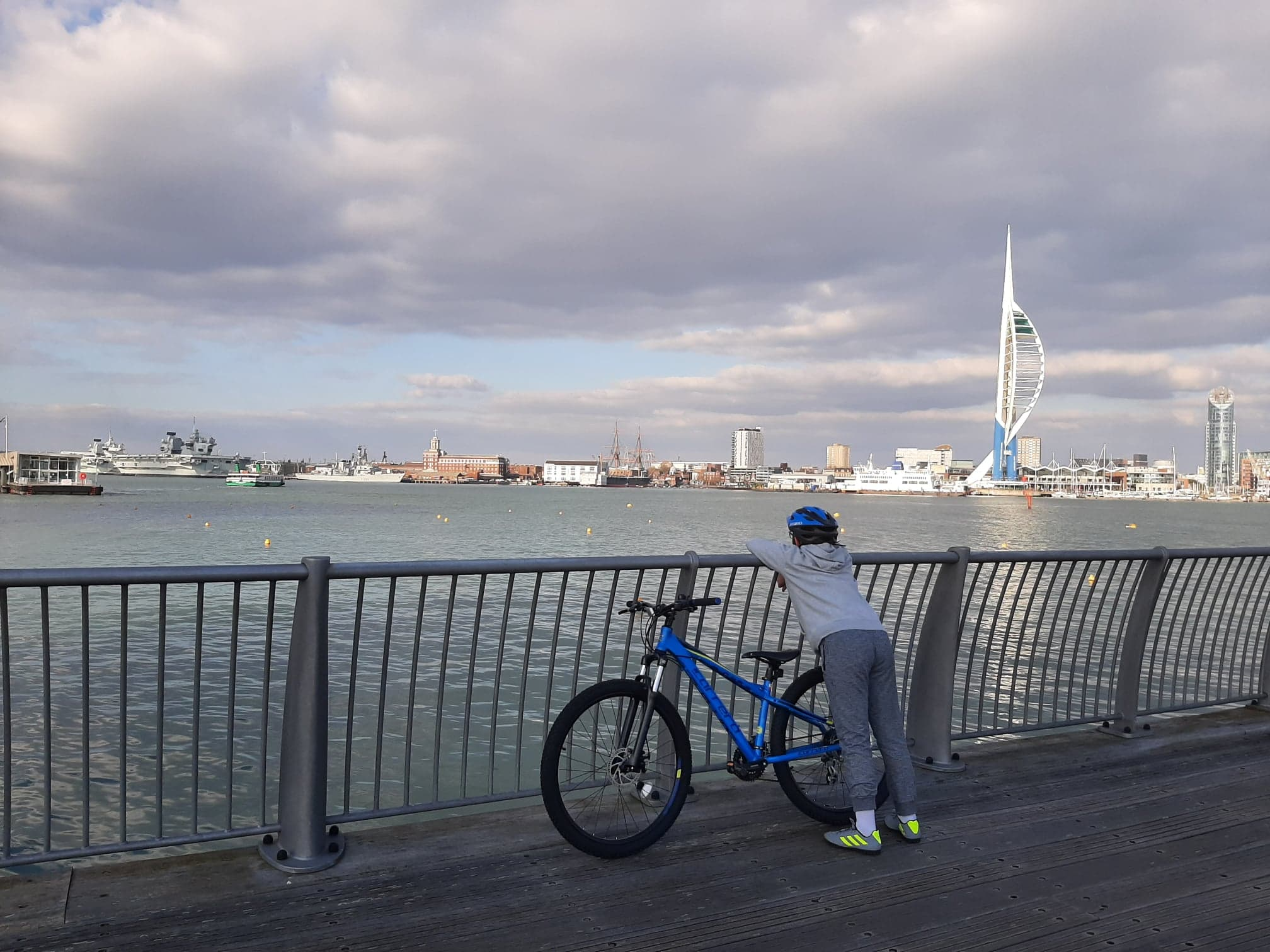 Billy (11) Portsmouth Harbour