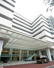 JSDF Central Hospital entrance