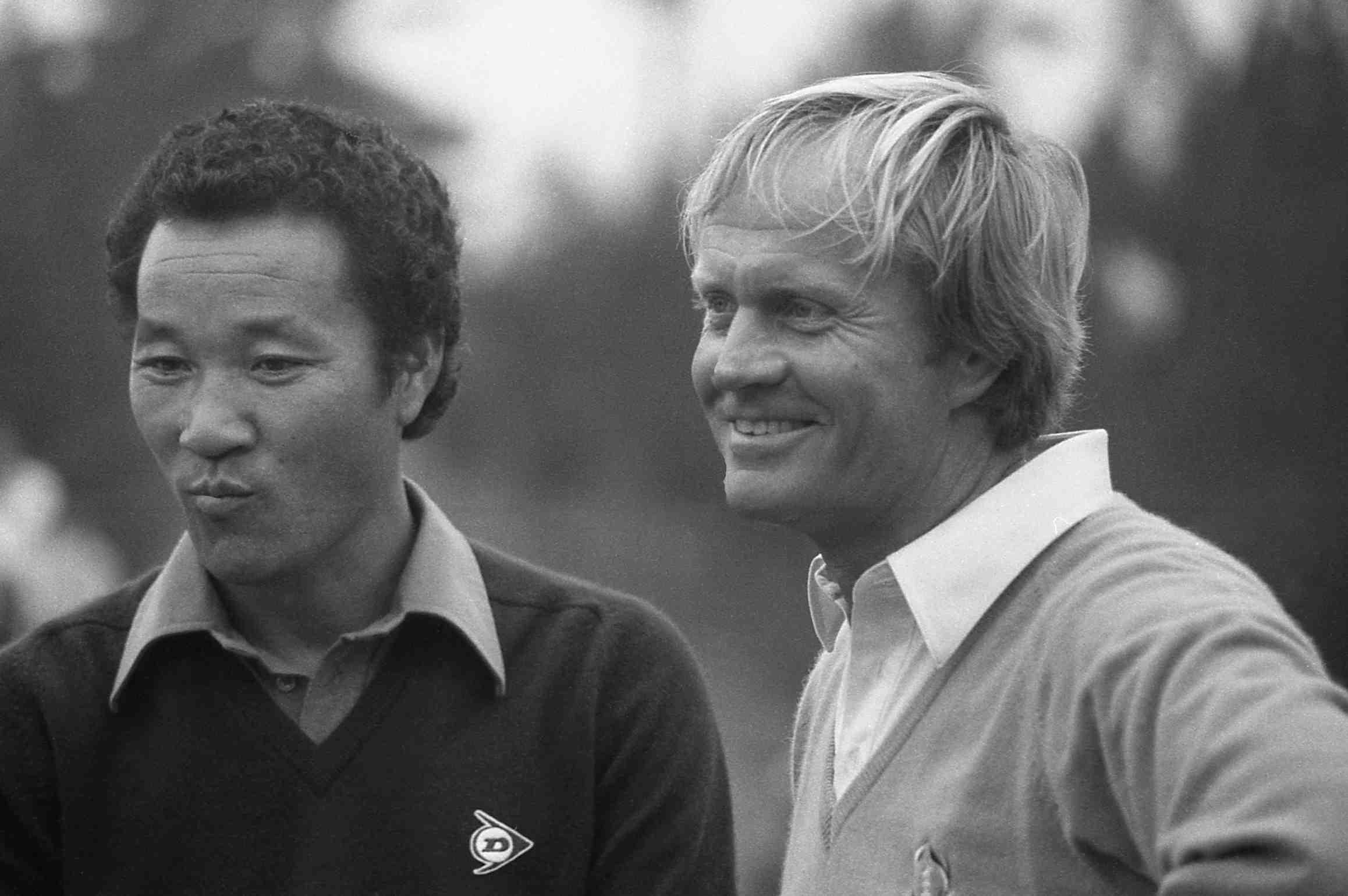 Japan Golf Legend Isao Aoki