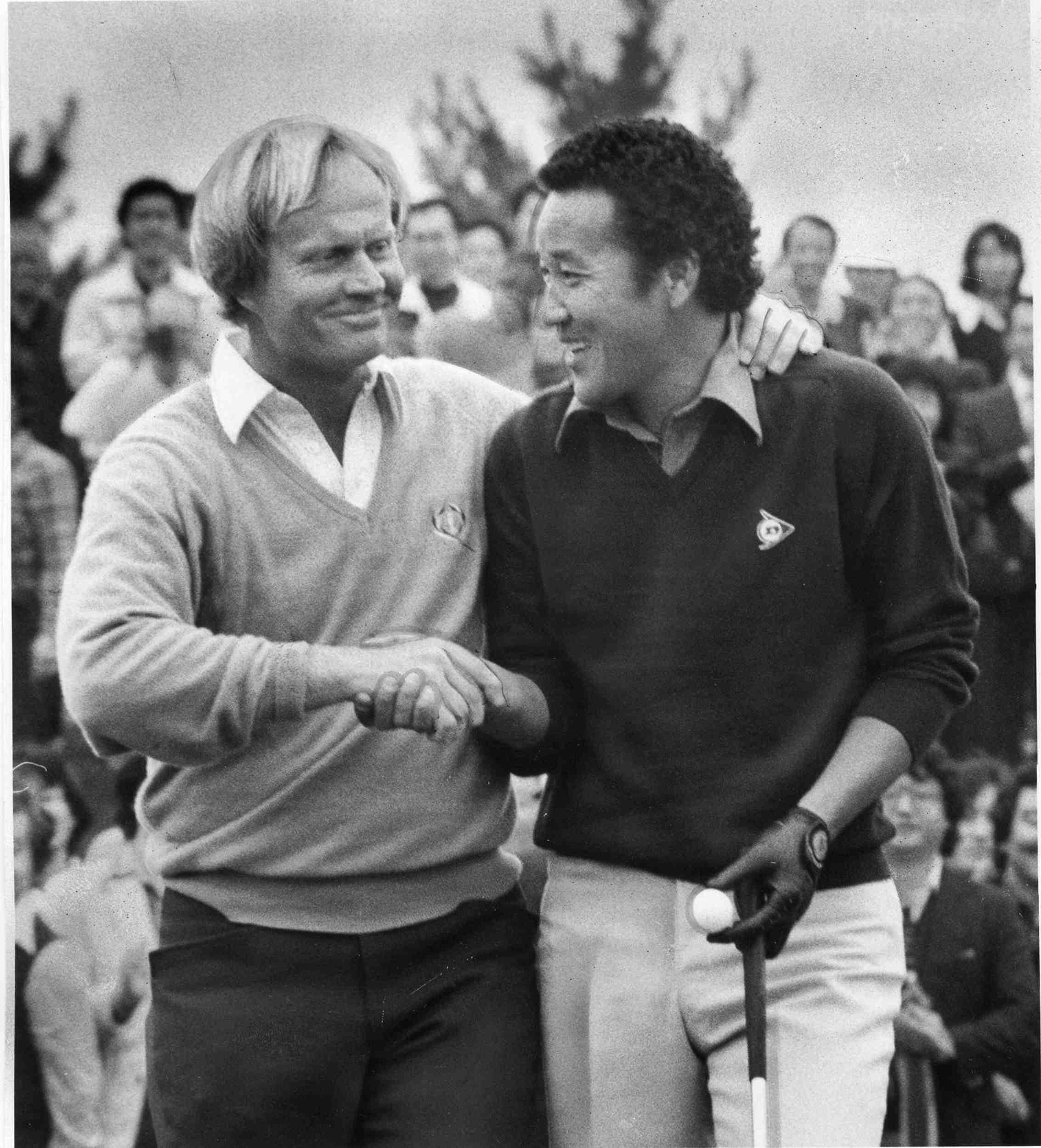 Japan Golf Legend Isao Aoki 009