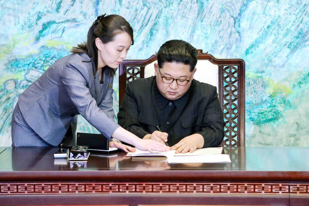 This image has an empty alt attribute; its file name is North-Korea-Kim-Yo-Jong-and-Kim-Jong-Un-003-1024x683.jpg