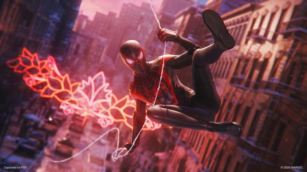 PlayStation5 Game: Marvel's Spiderman, Miles Morales
