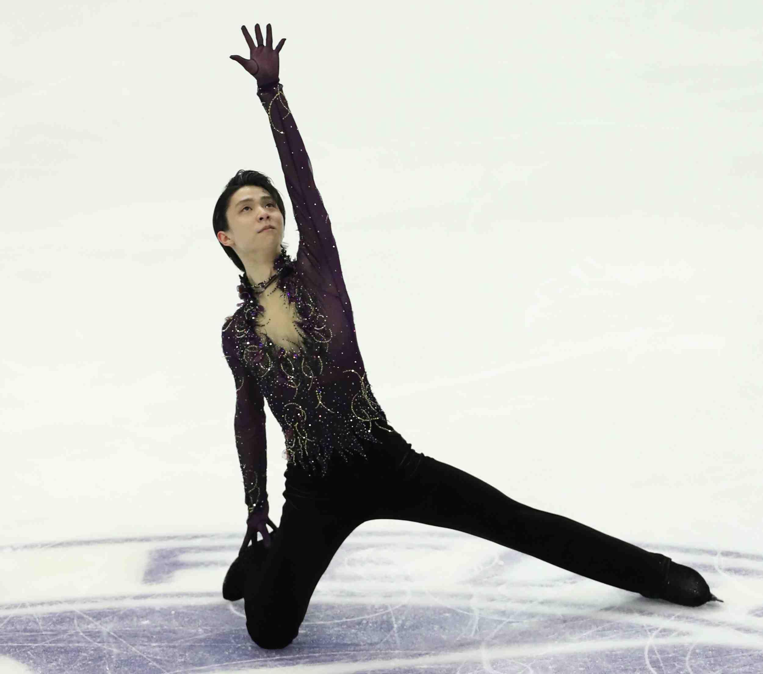 FIGURE SKATING Yuzuru Hanyu