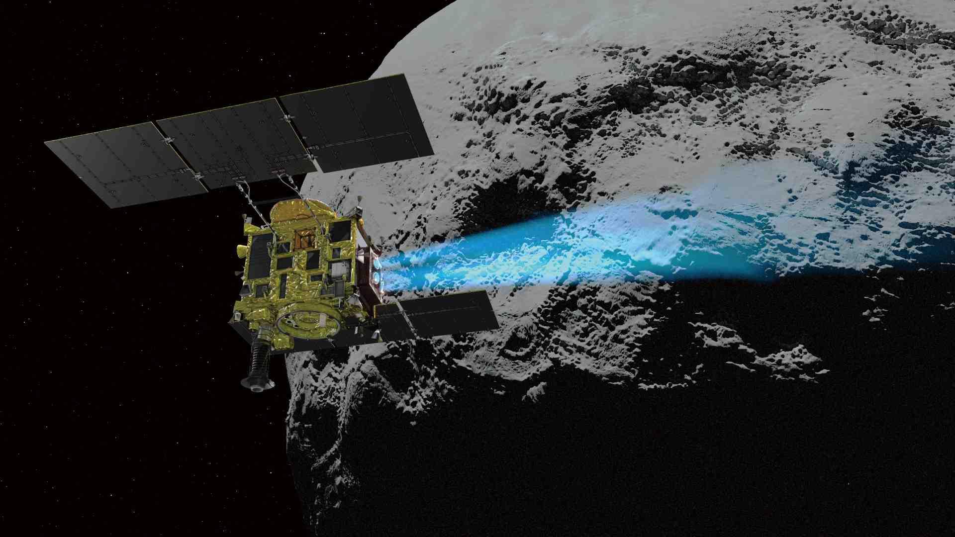 JAXA Space Probe Hayabusa2 003