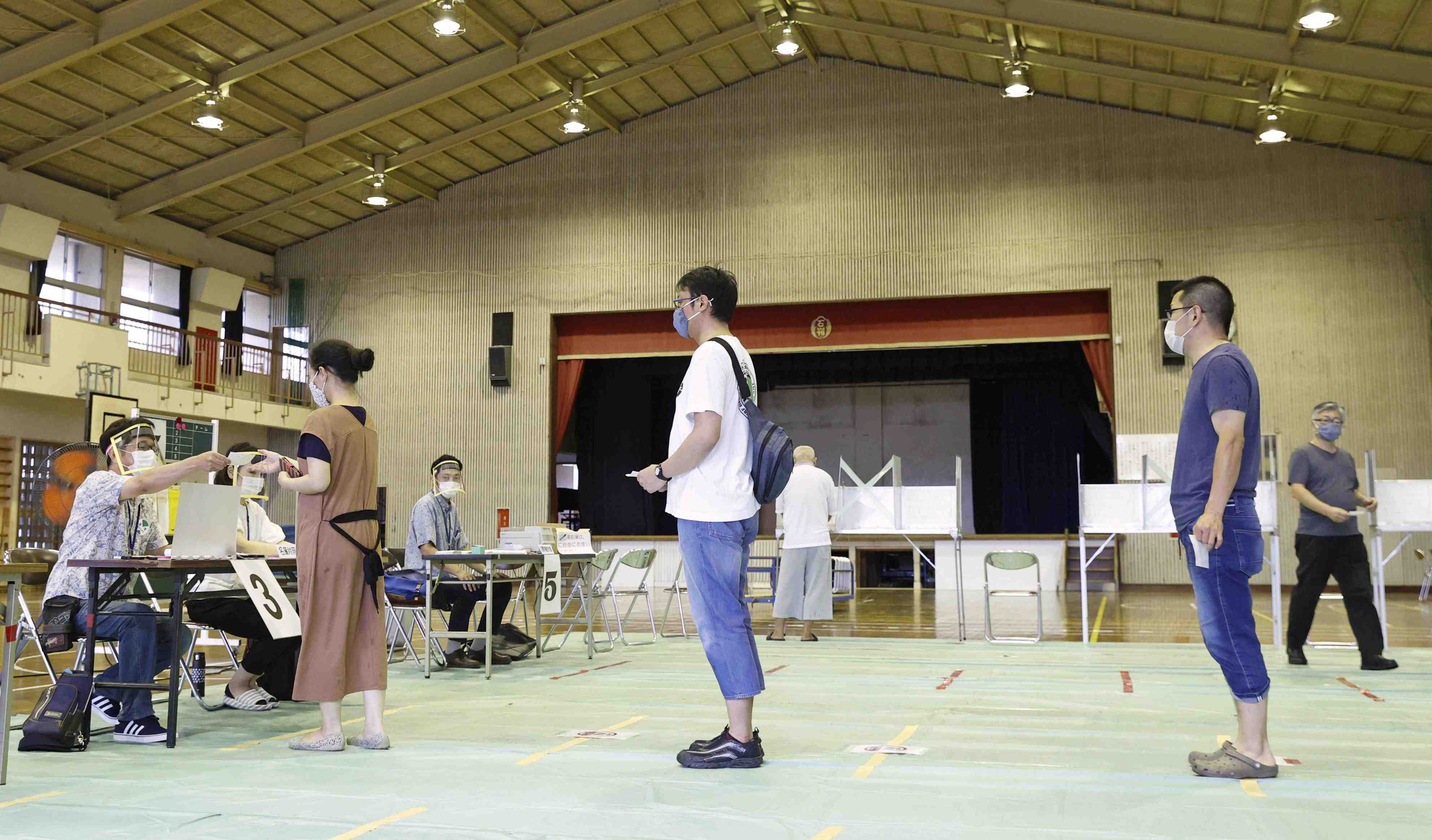 Japan Election Voting stations 003