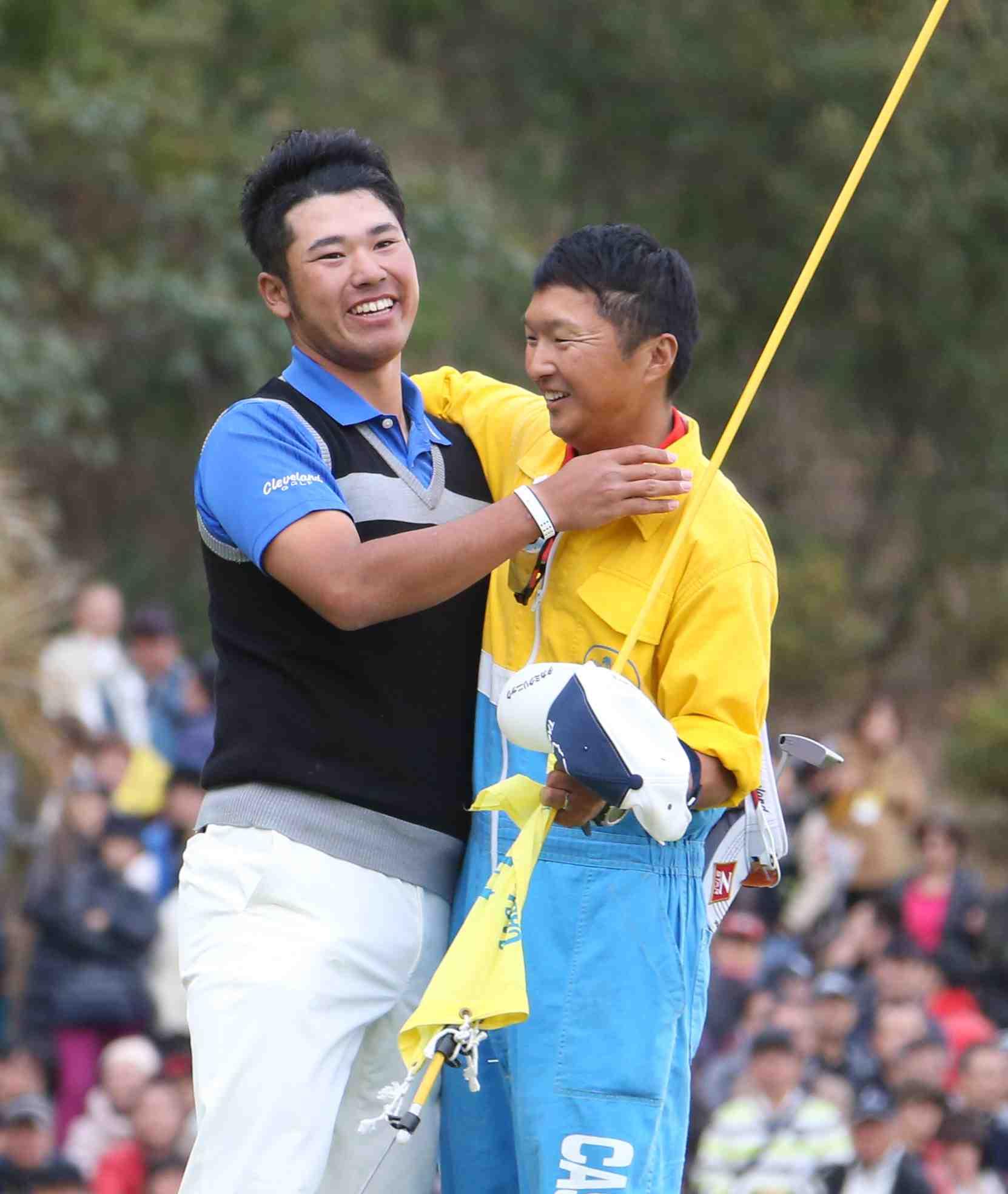 Japan Golf Daisuke Shindo with Matsuyama 001