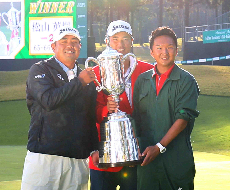 Japan Golf Daisuke Shindo with Matsuyama 004