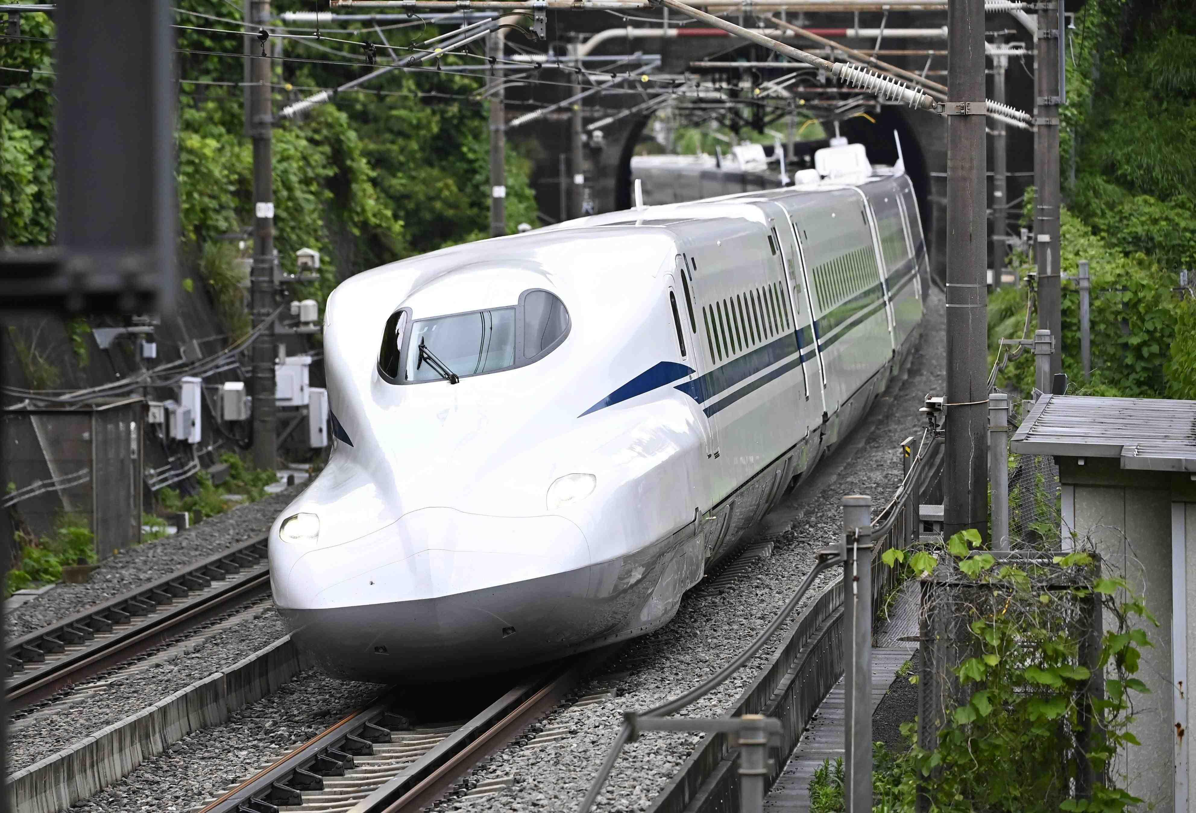 Japan Shinkansen N700S Debut JR Central 010