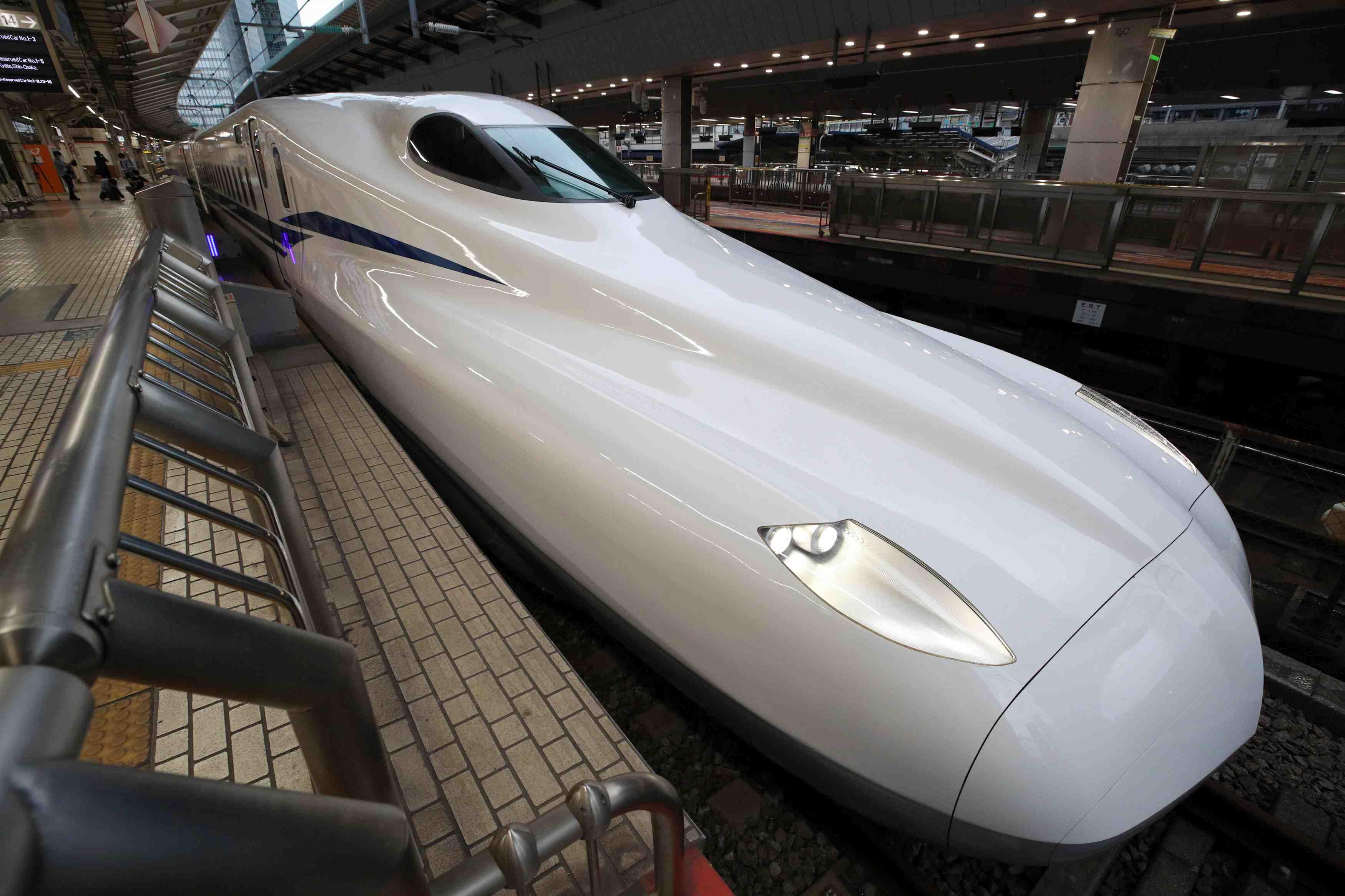 Japan Shinkansen N700S Debut JR Central