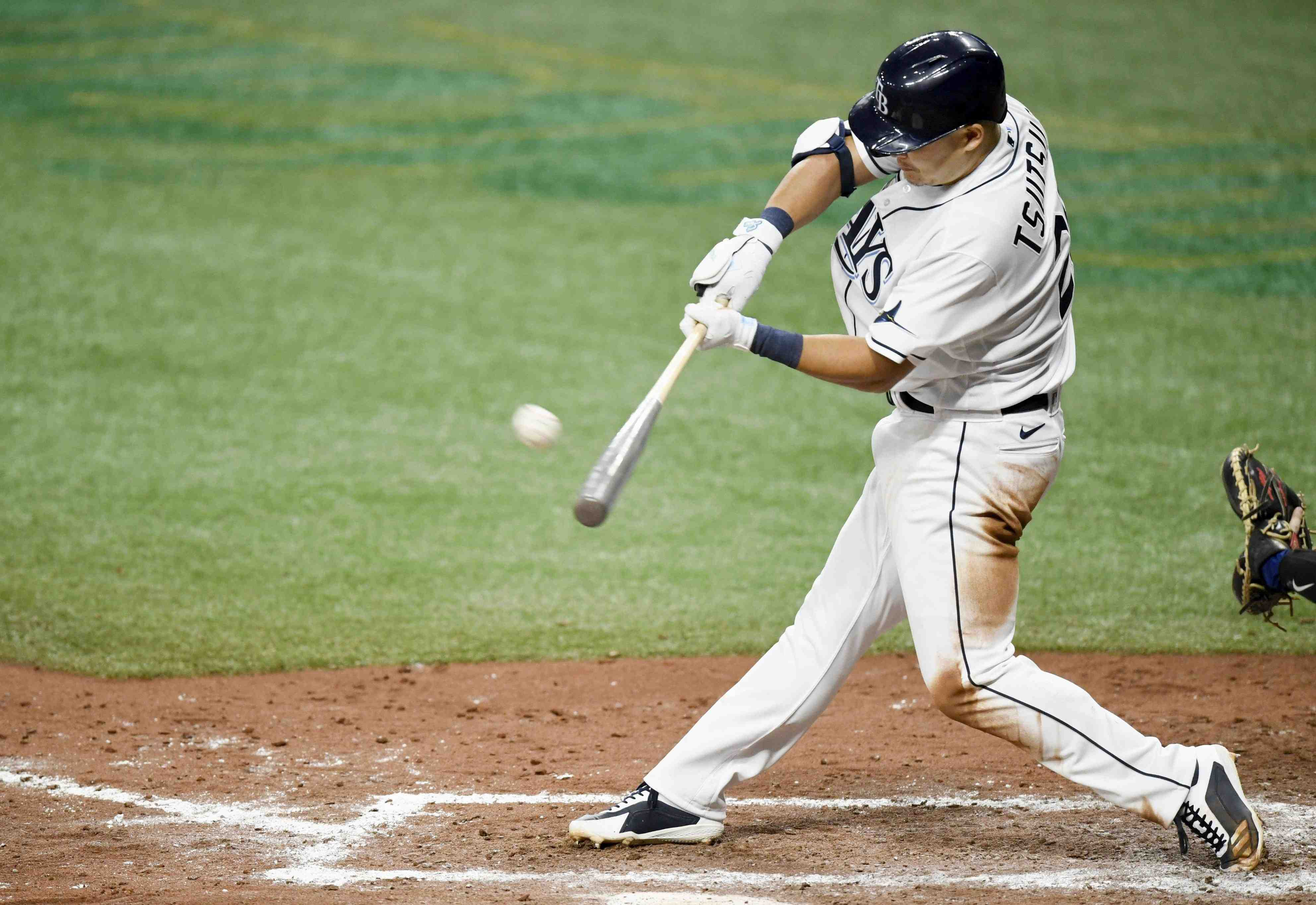 MLB Tampa Bay Rays third baseman Yoshitomo Tsutsugo 006