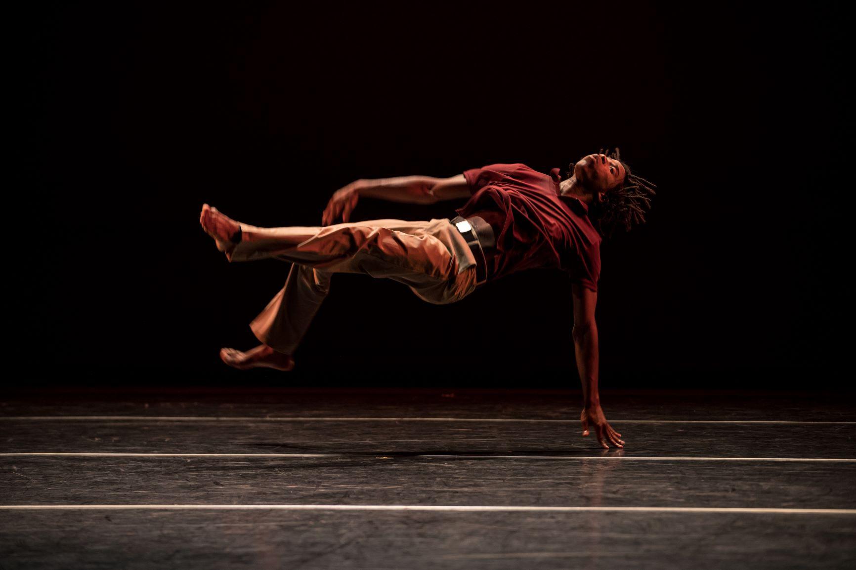 Arts Exchange Cameron McKinney Dancing