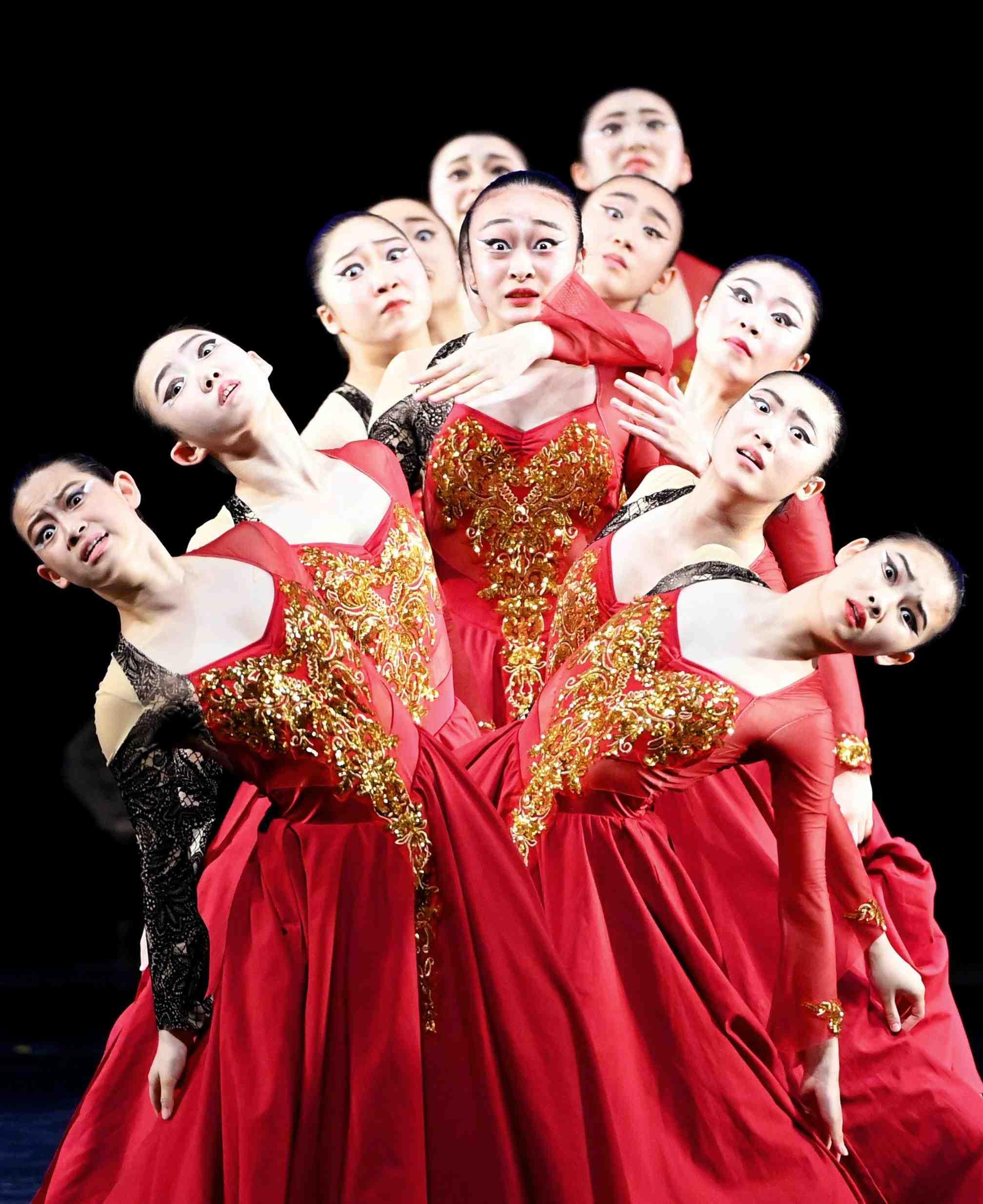 Japan High School Dance Club Competition 004