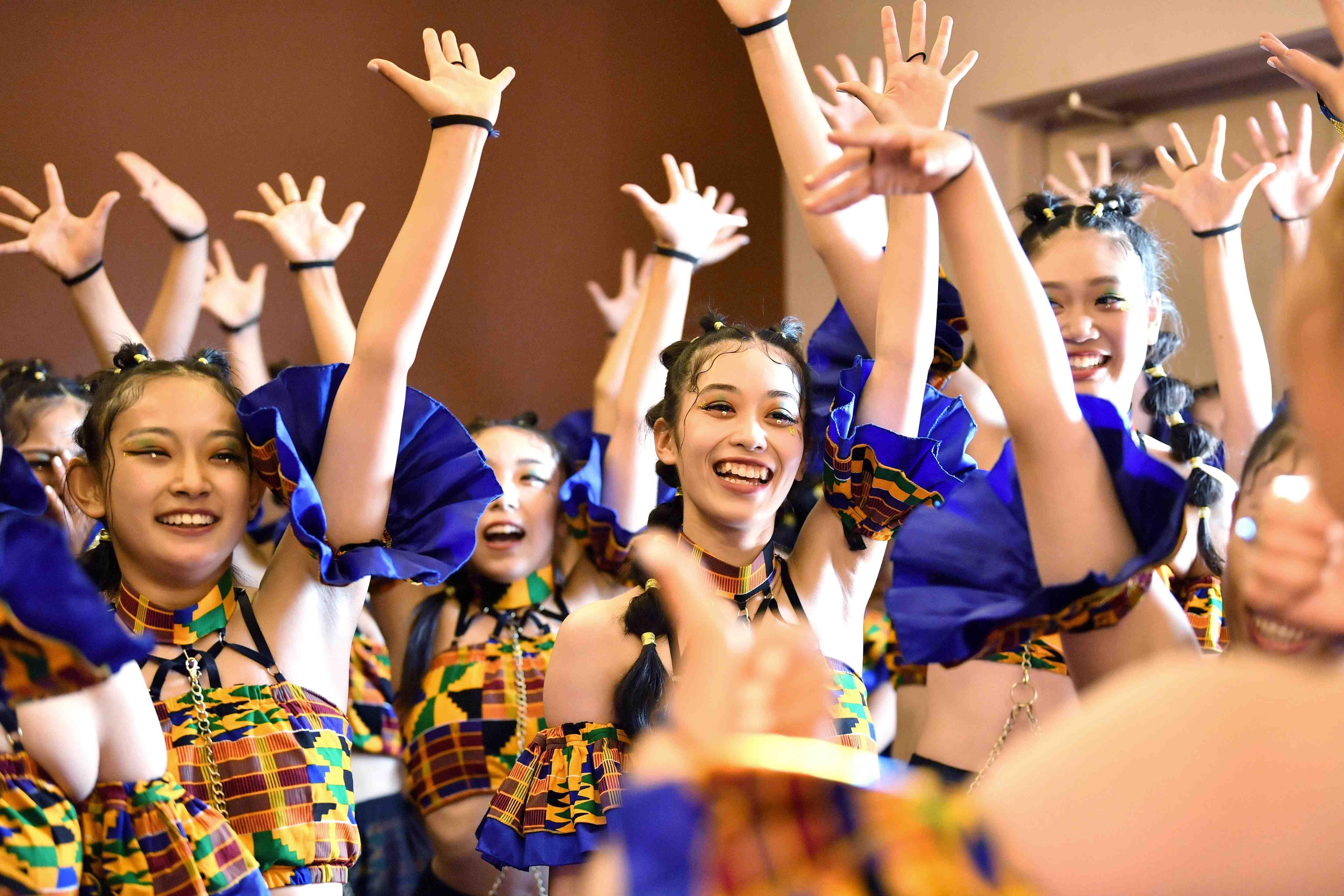 Japan High School Dance Club Competition 016