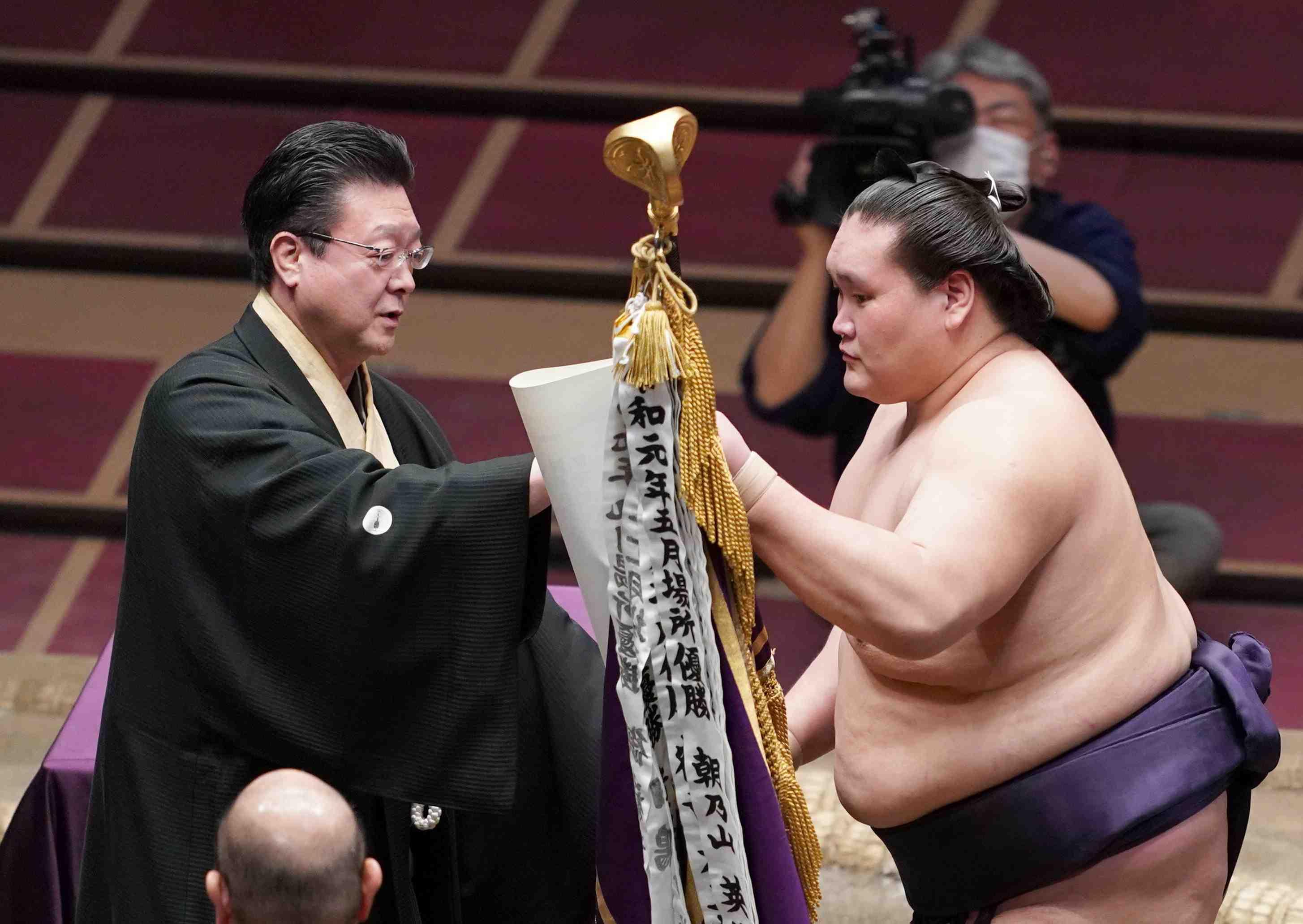 Sumo_ 2020 July basho Terunofuji 005