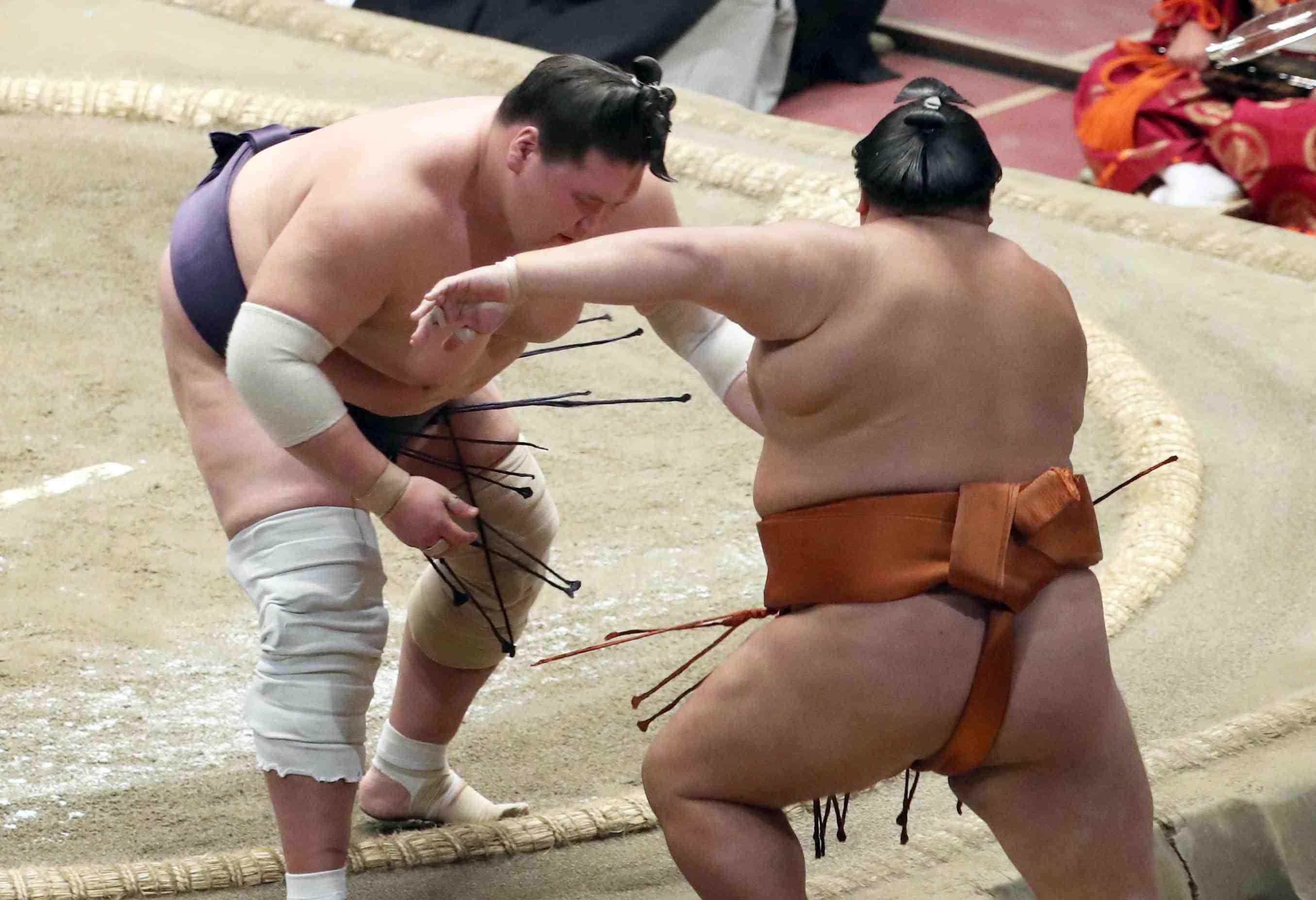 Sumo_ 2020 July basho Terunofuji 006