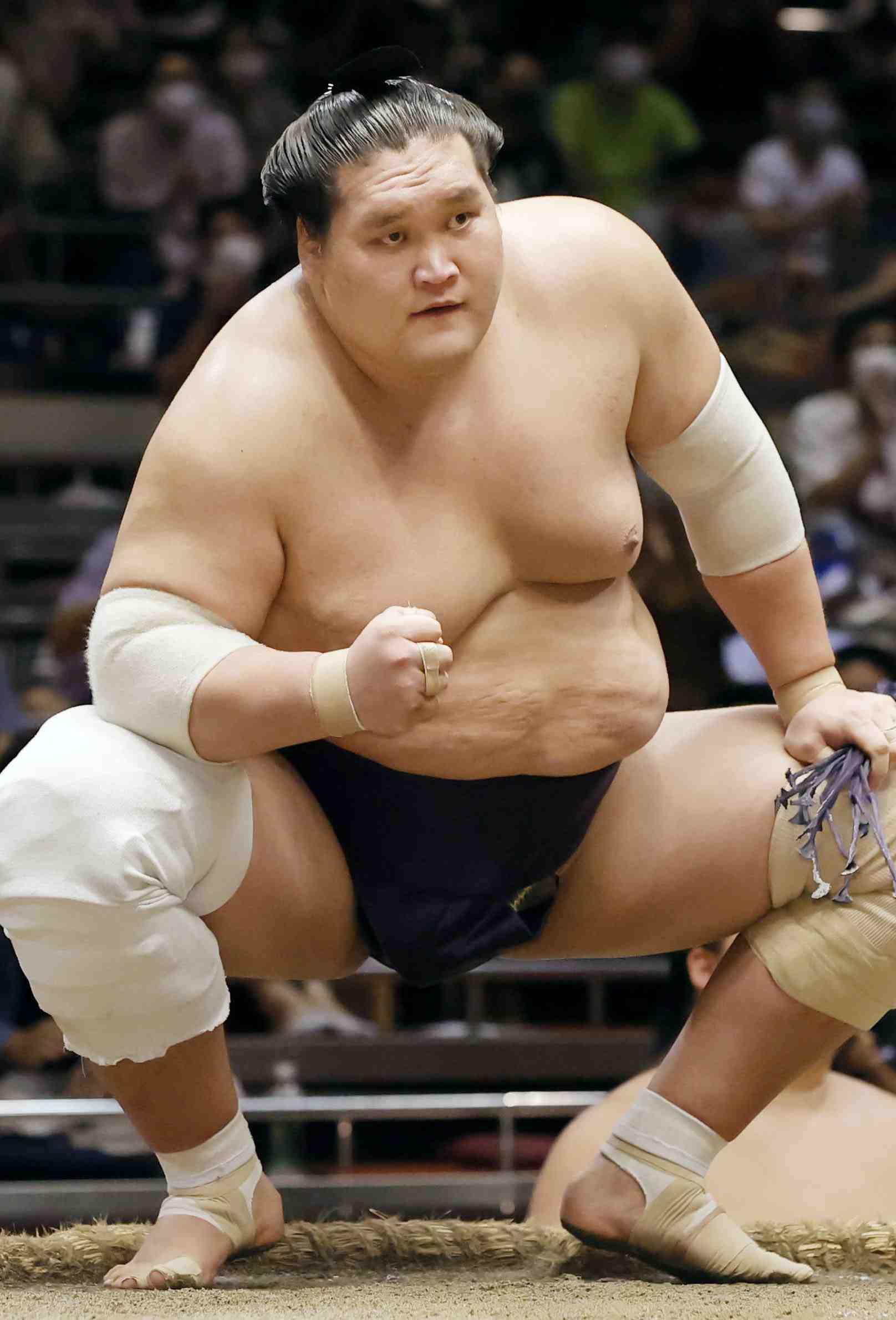 Sumo_ 2020 July basho Terunofuji 008