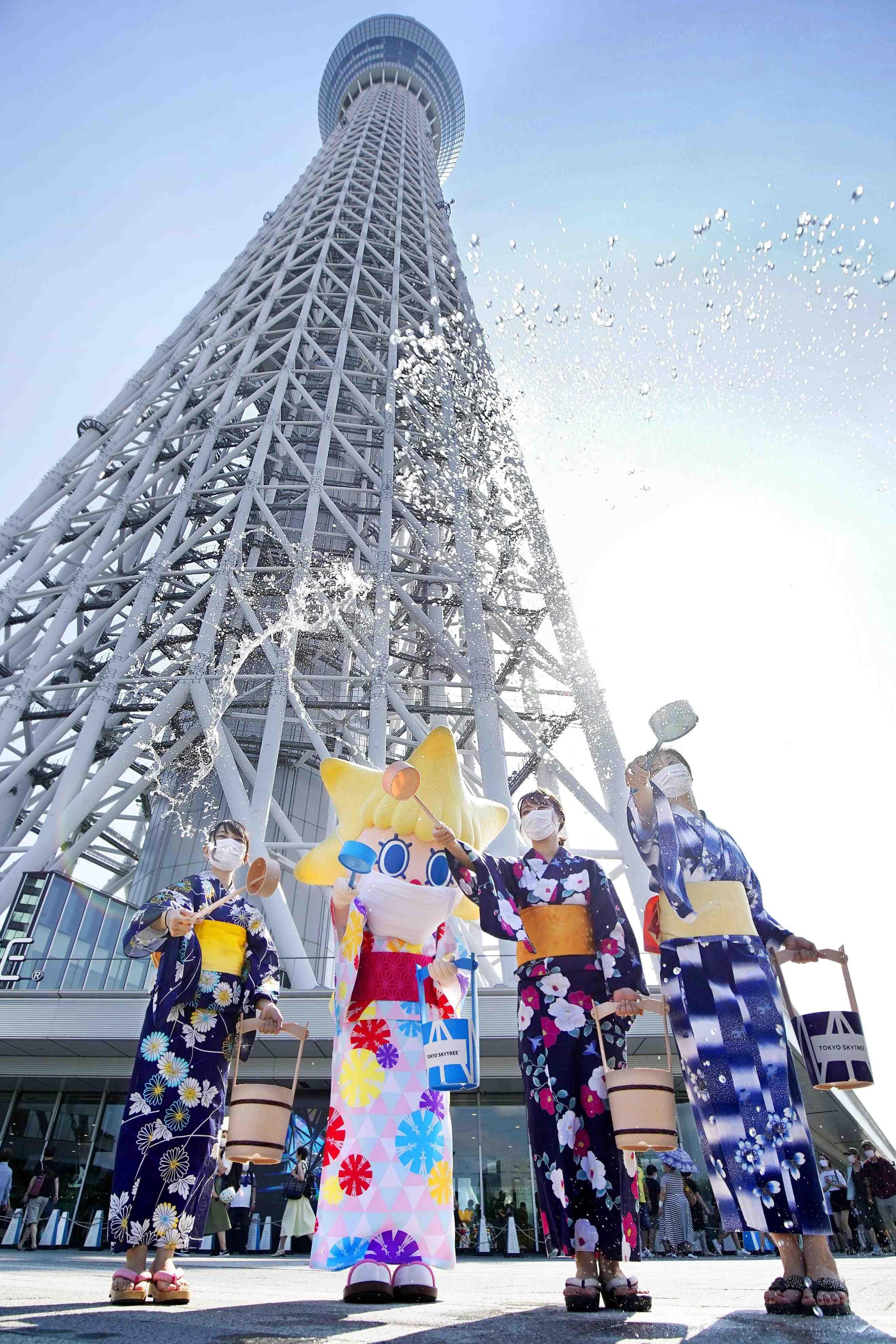 Tokyo Sky Tree and Yukata 004