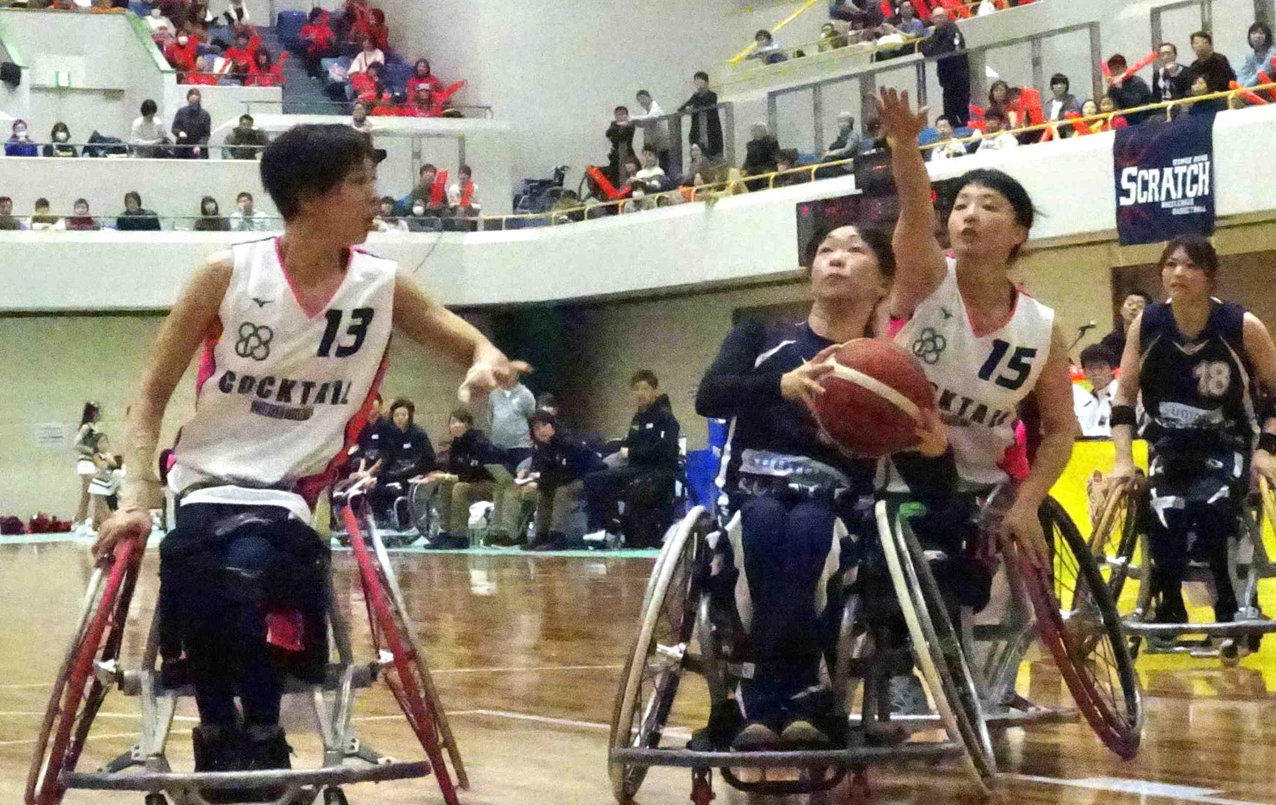 Japan wheelchair basketball Tokyo Paralympics 001