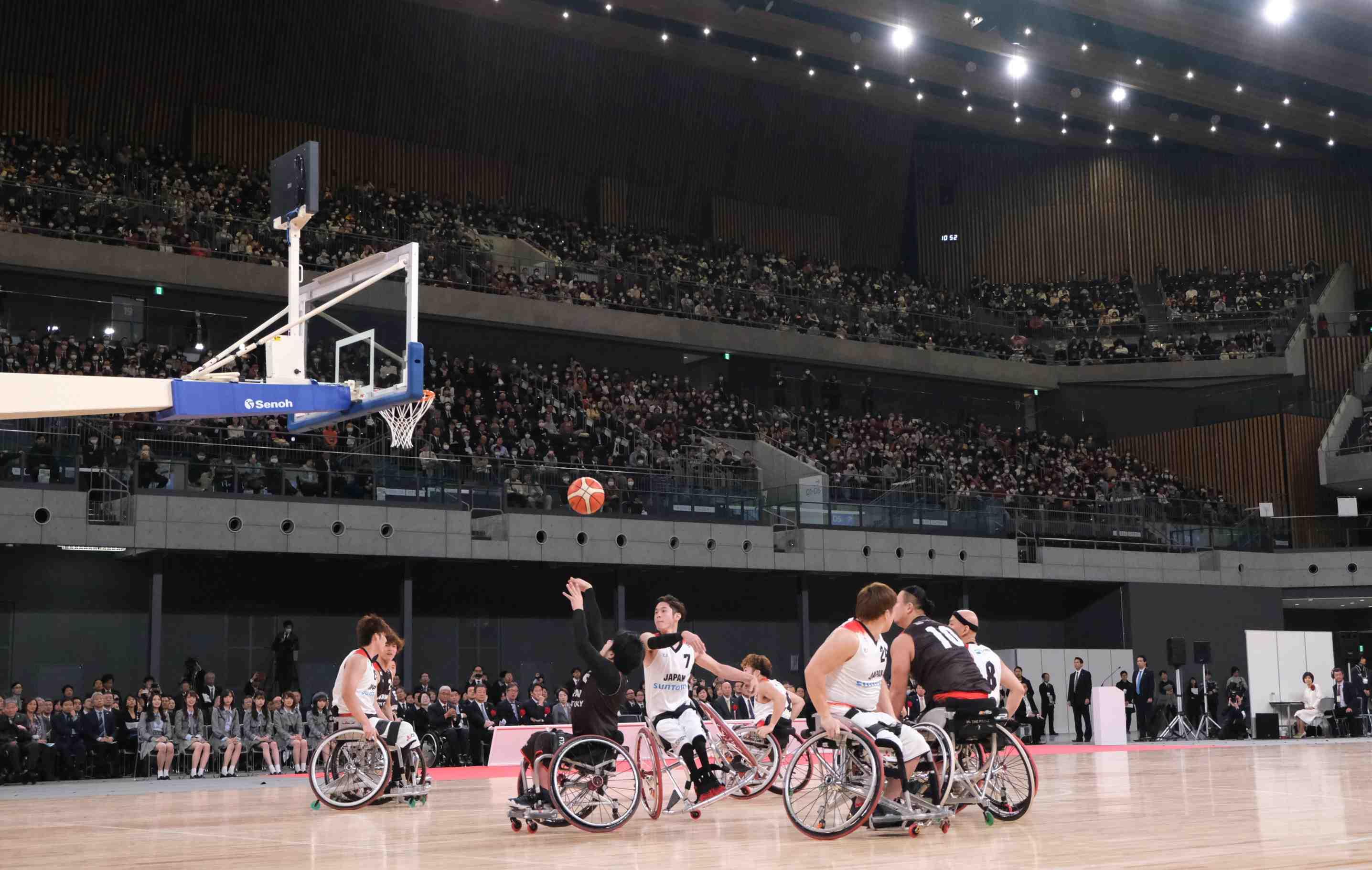 Japan wheelchair basketball Tokyo Paralympics