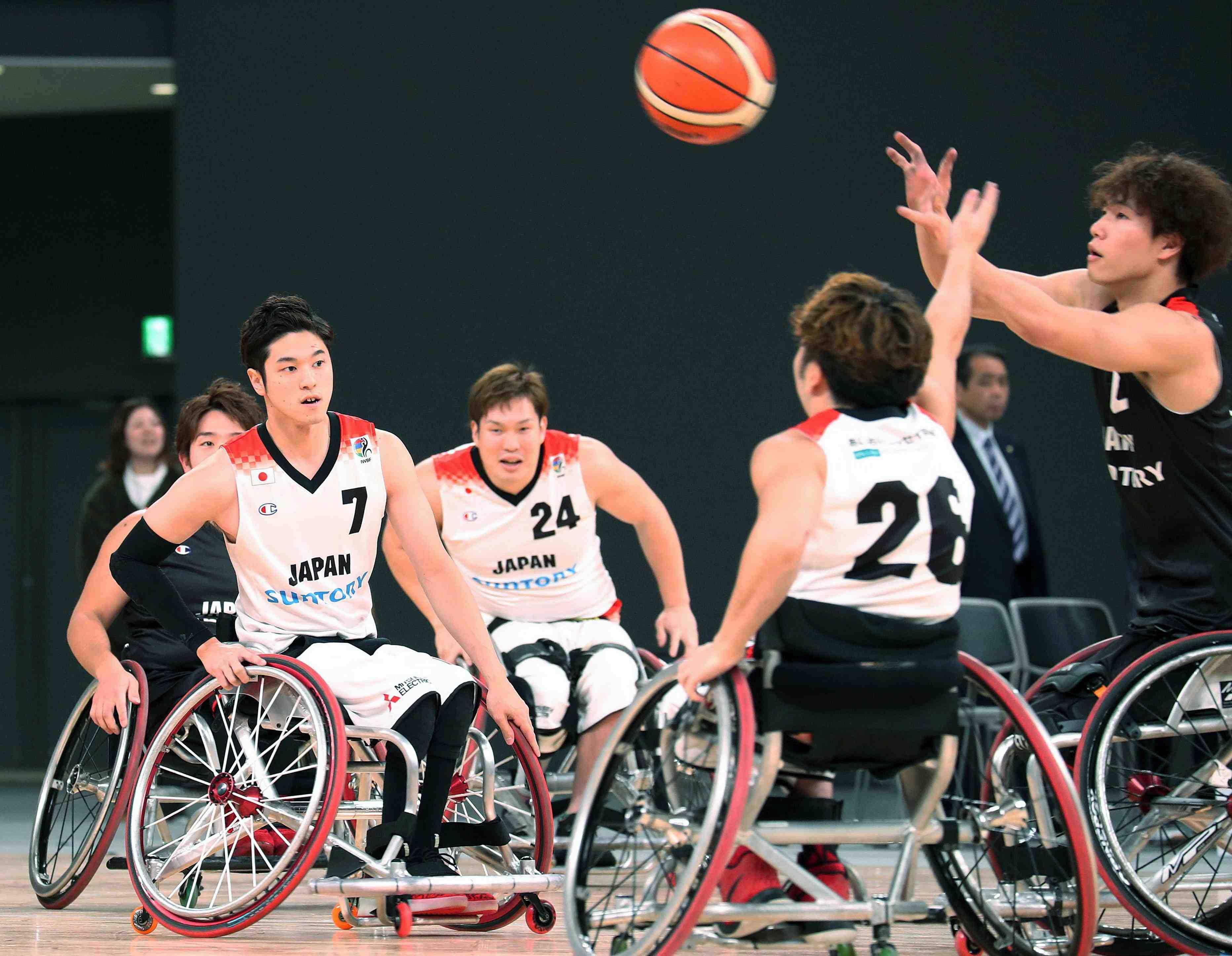 Japan wheelchair basketball Tokyo Paralympics 003