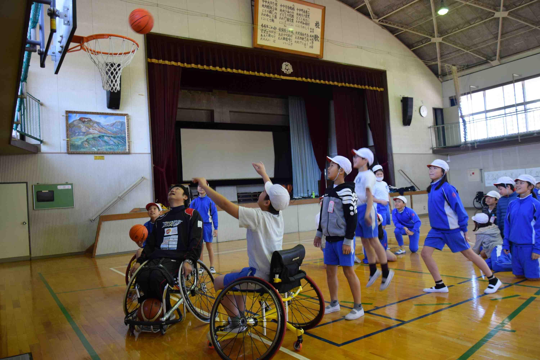 Japan wheelchair basketball Tokyo Paralympics 004
