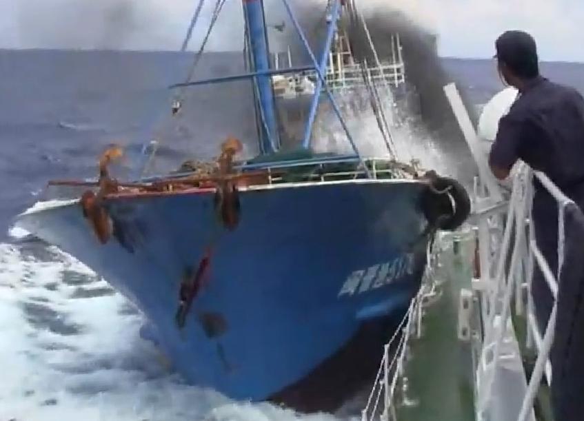 Senkaku Islands Incident with Chinese Fishing Boat 002