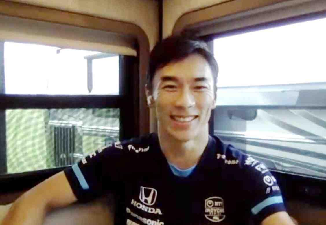 Takuma Sato Motor Sports Racing Driver 002