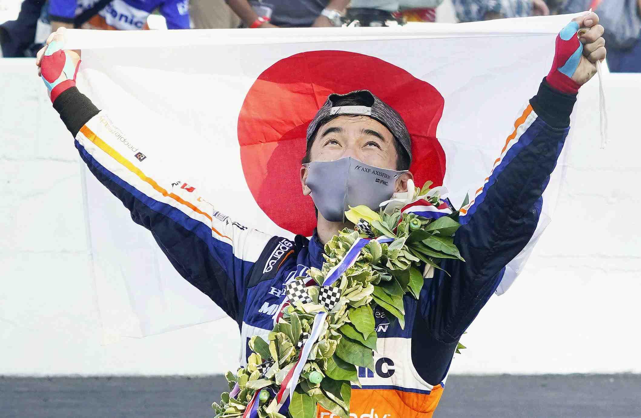 Takuma Sato Motor Sports Racing Driver 004