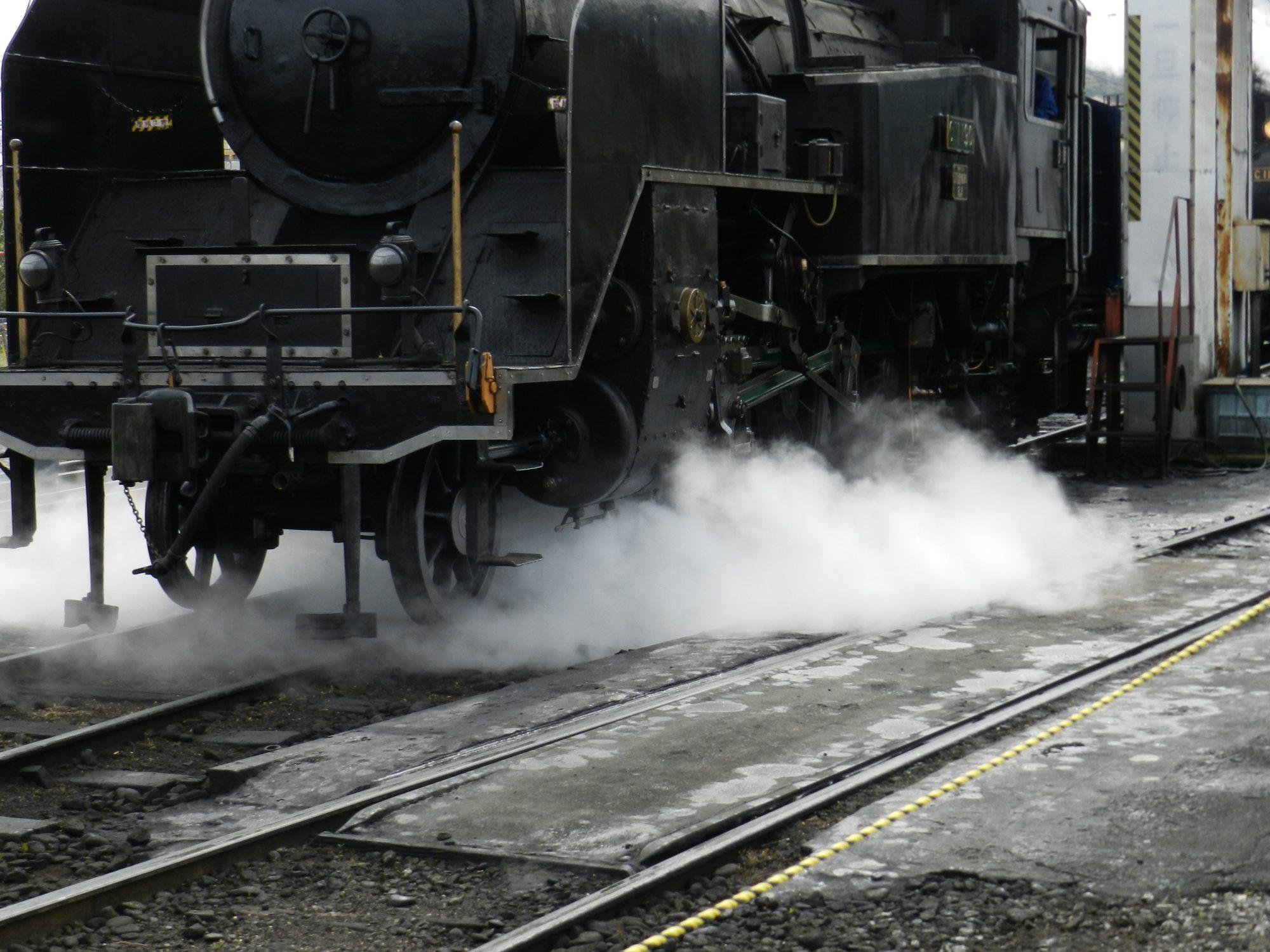 035 Steam engine Kinmonth