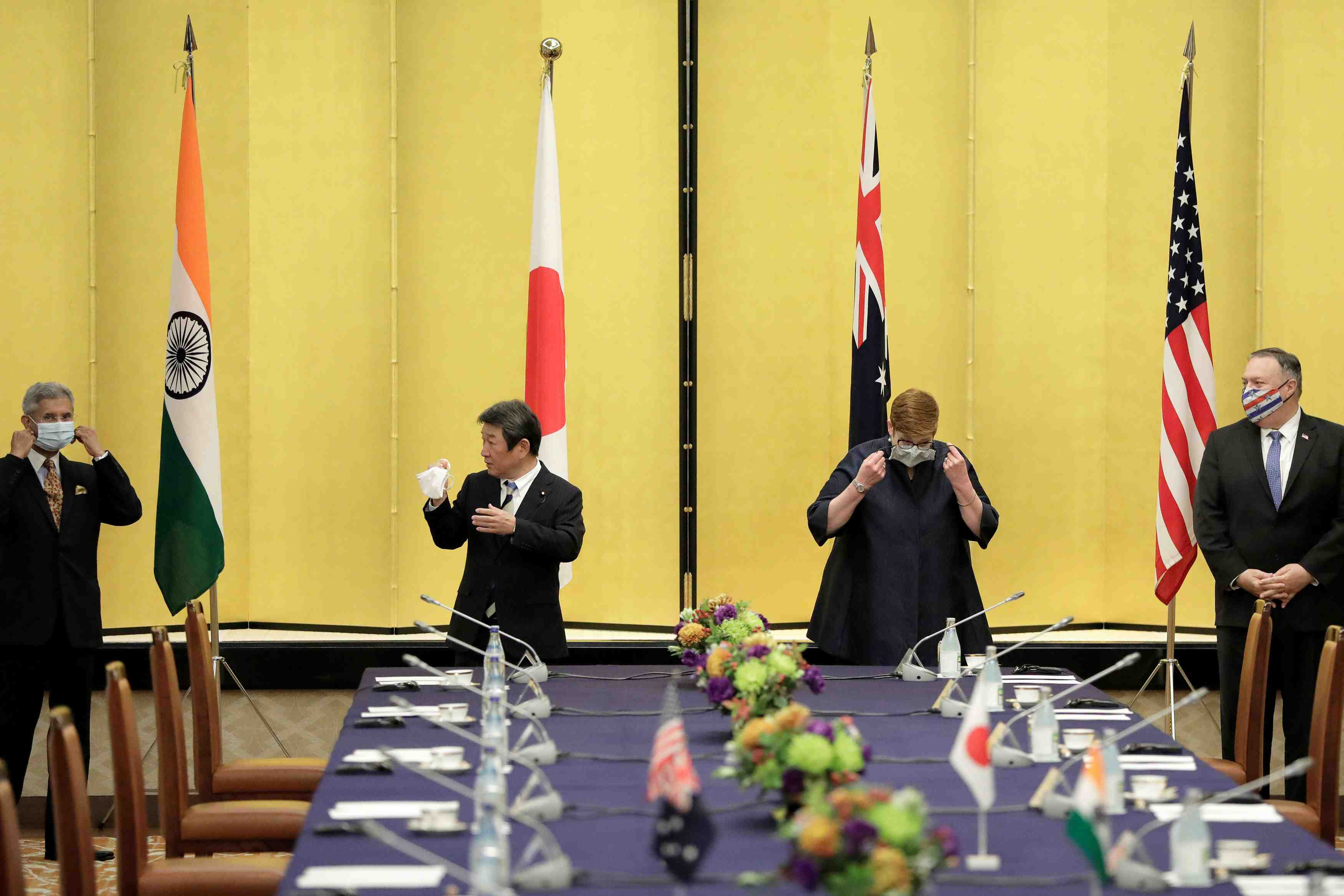 Quad Indo-Pacific meeting in Tokyo