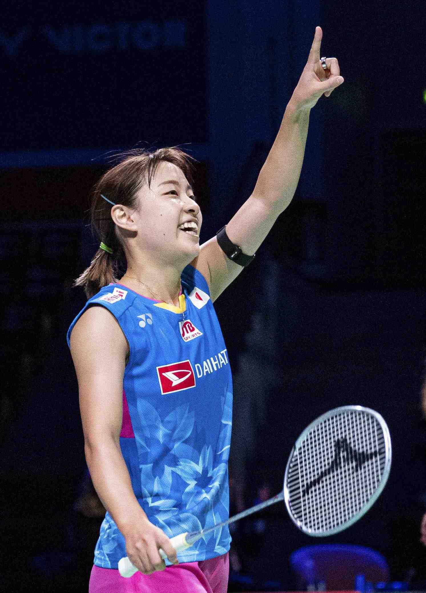 Badminton Nozomi Okuhara was the winner of the Denmark Open 002