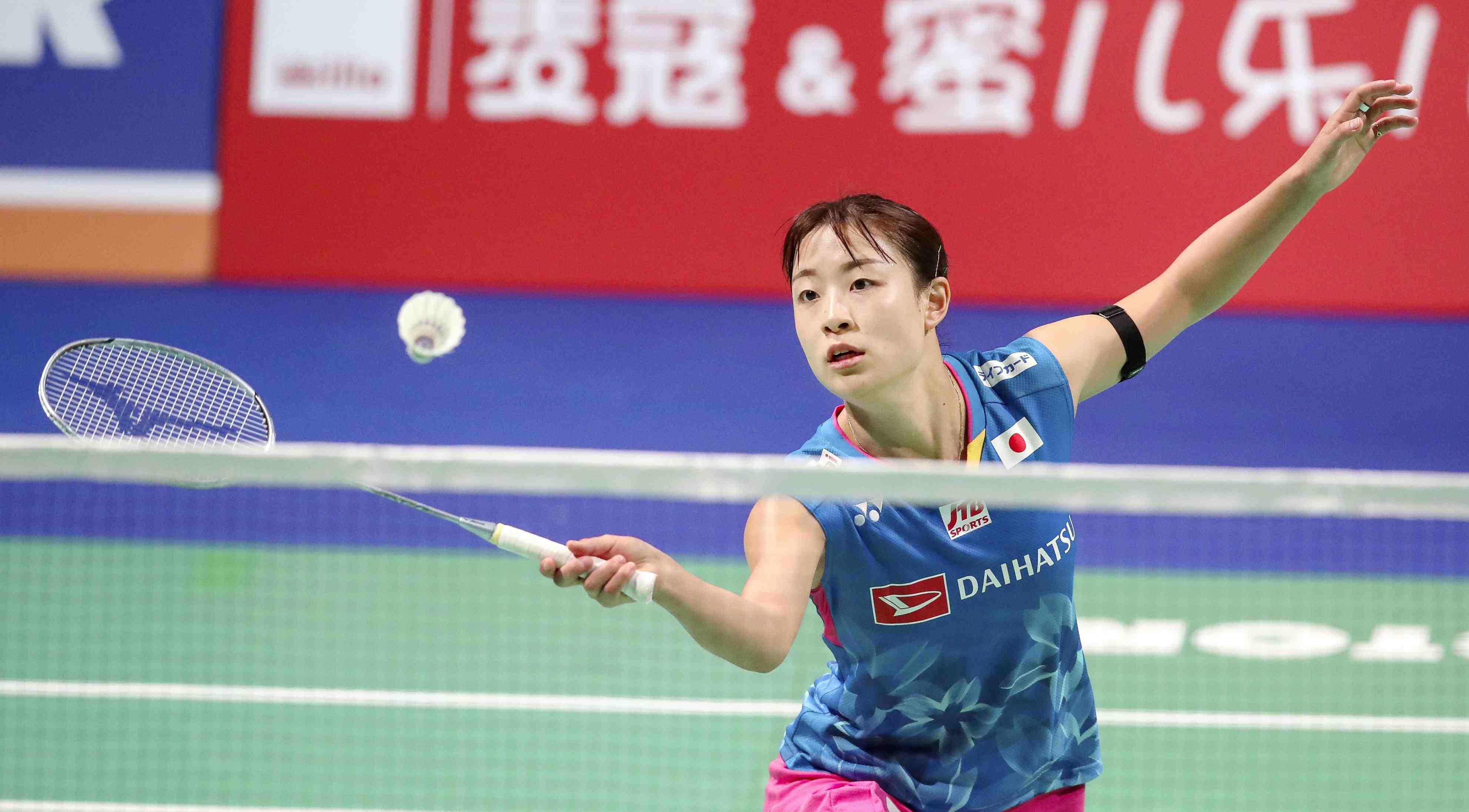 Badminton Nozomi Okuhara was the winner of the Denmark Open 005