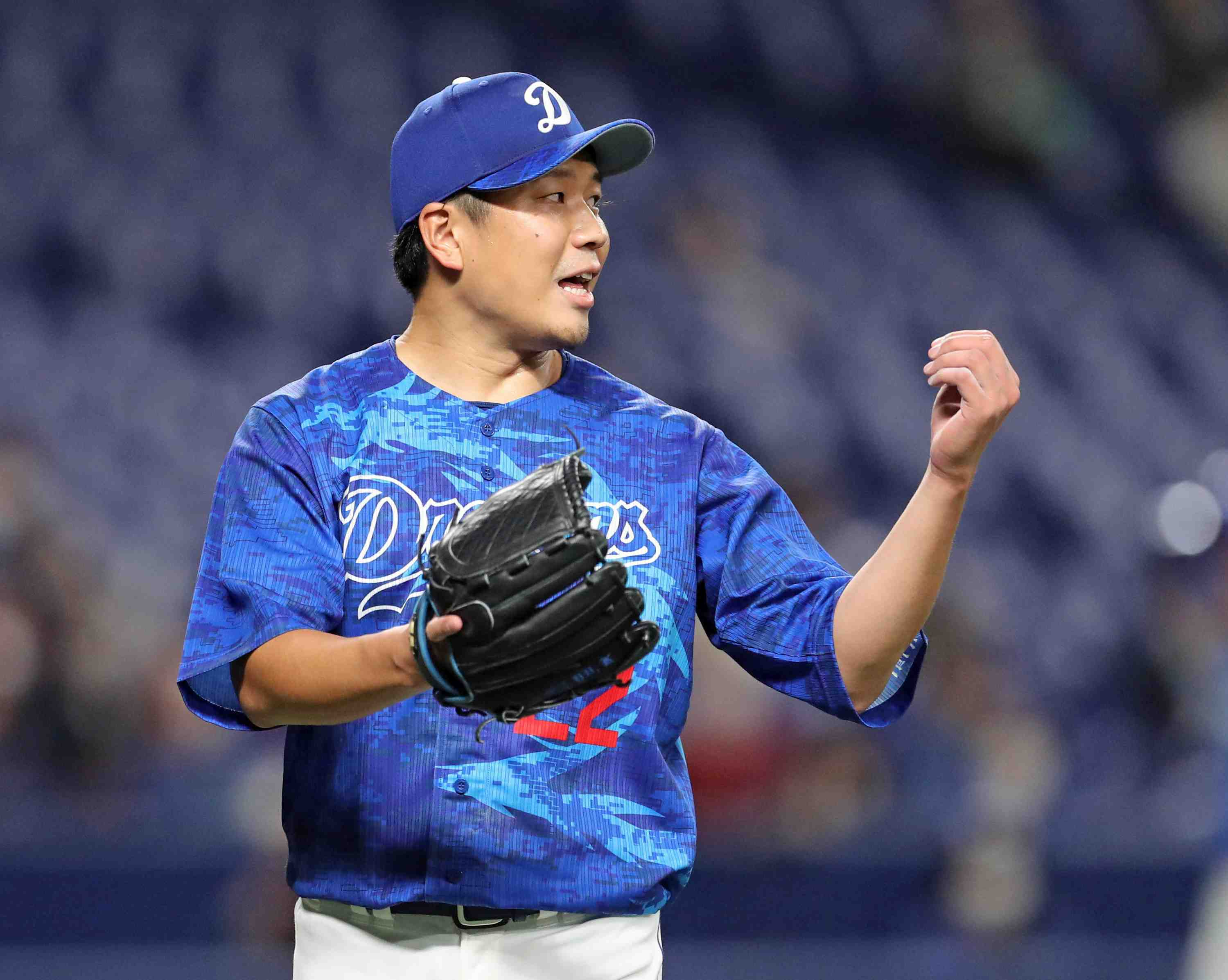 Baseball Dragons pitcher Yudai Ono