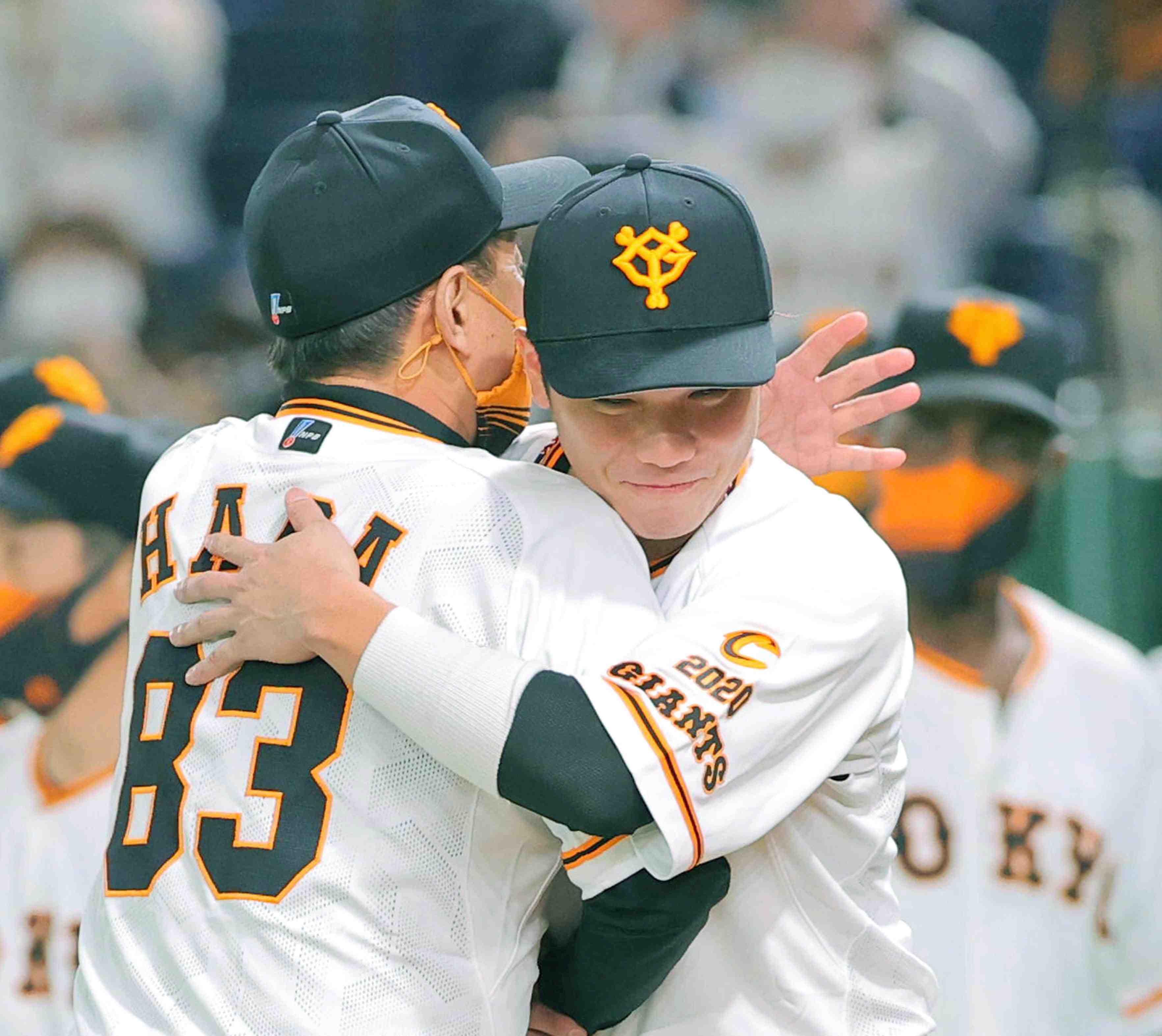 Baseball Tokyo Yomiuri Giants – celebration of Central League title