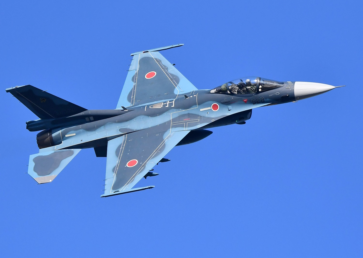 F-2 fighter jets of the Japan Air Self Defense Force