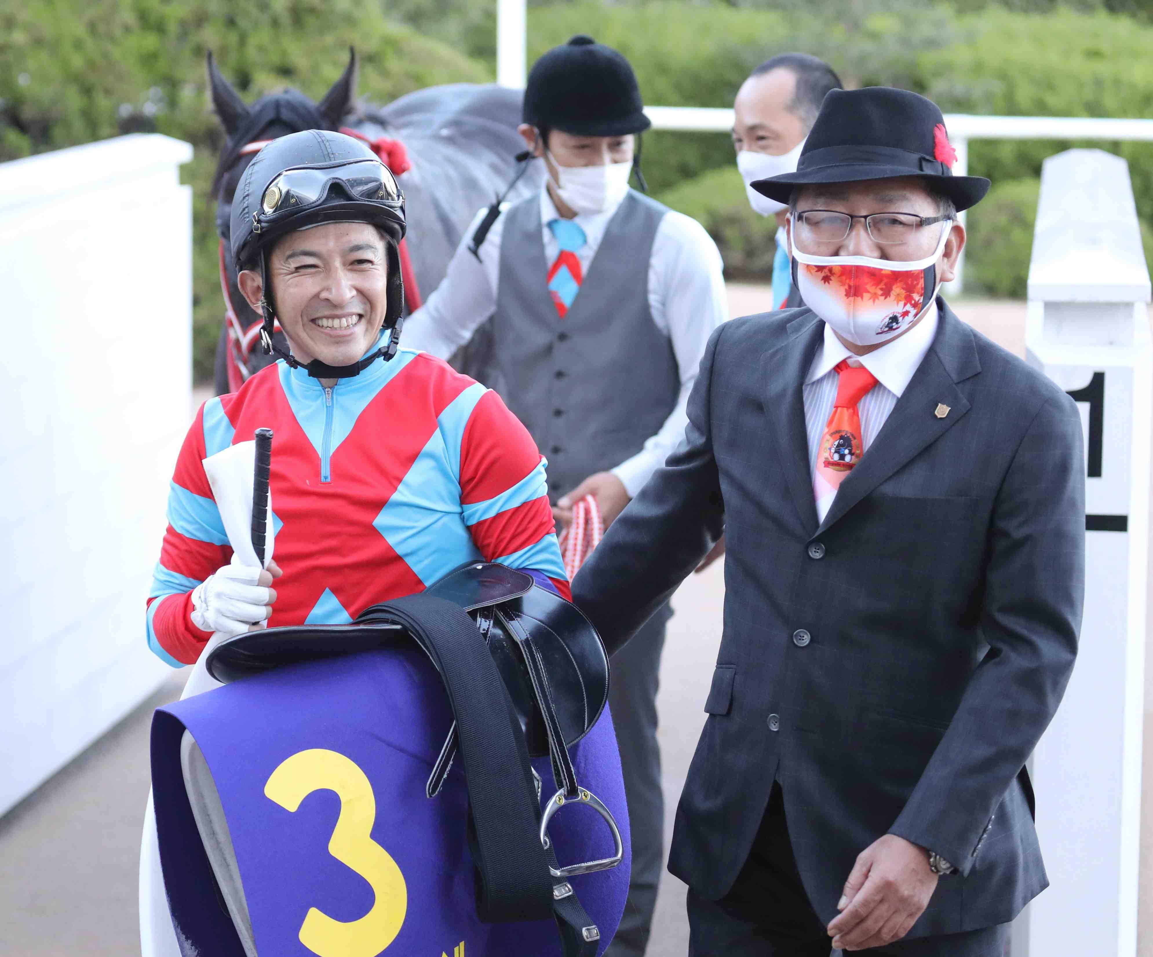 Horse Racing Kikkasho Triple Crown Winner Contrail
