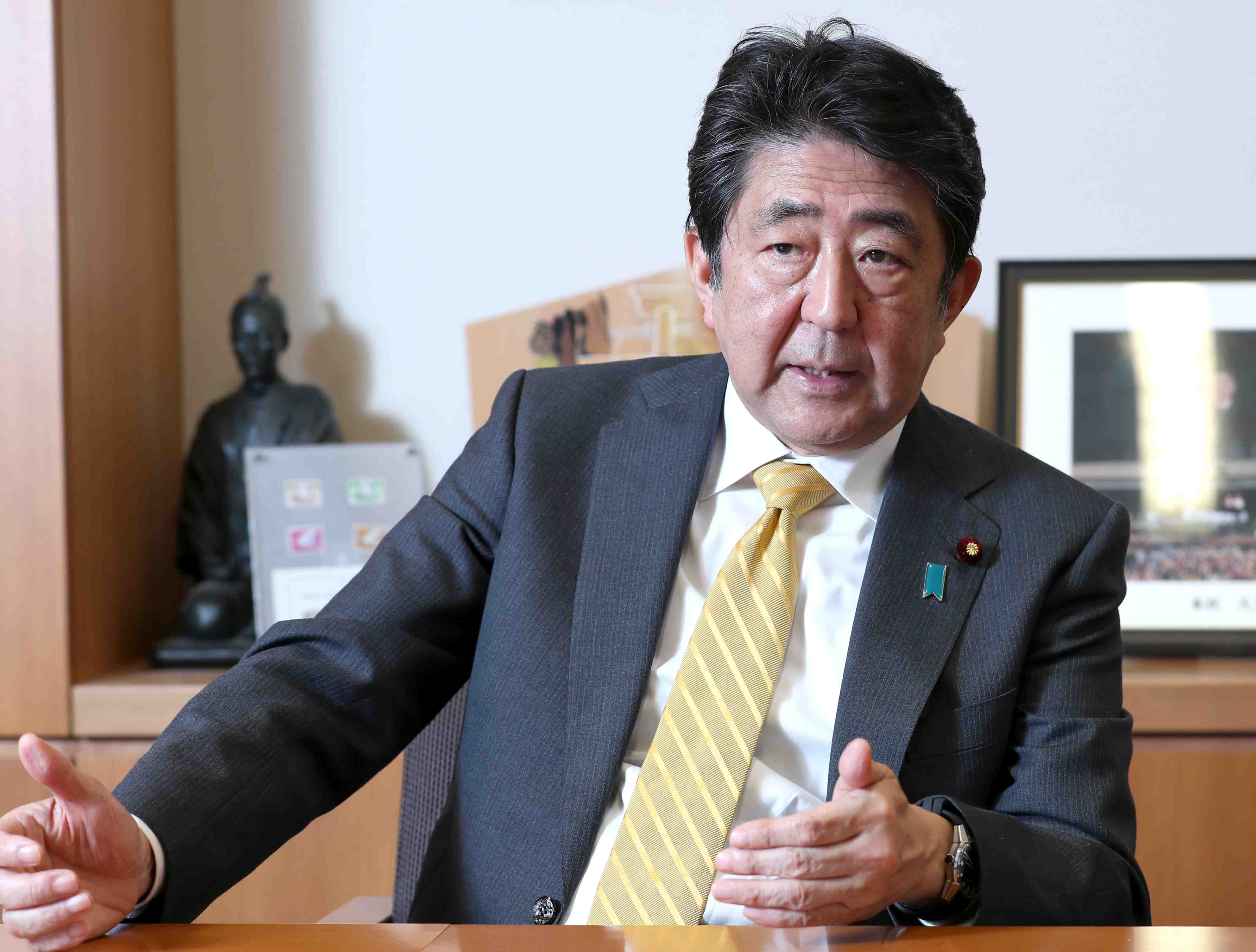 Interview with former Prime Minister Shinzo Abe