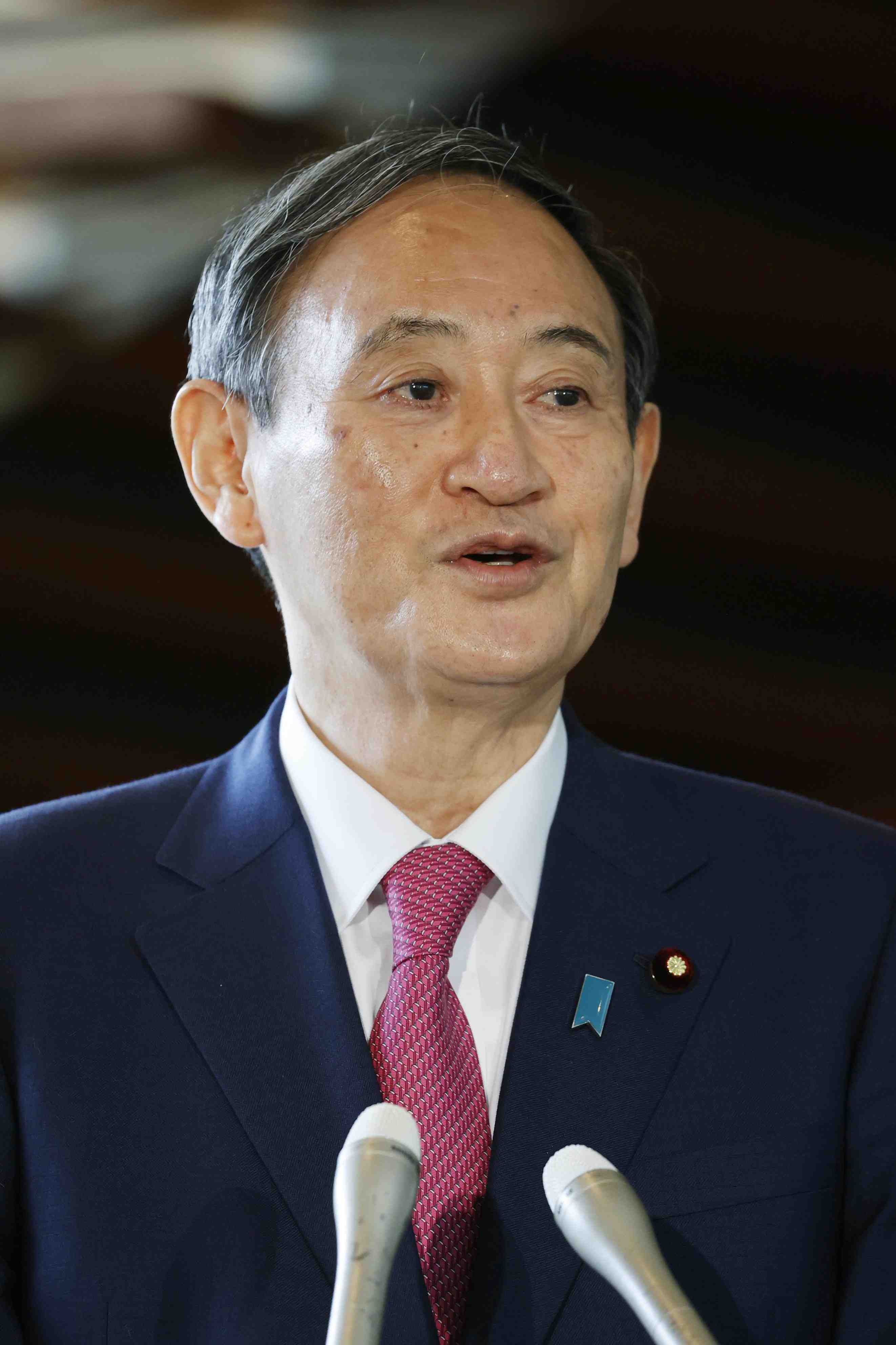 Japan Prime Minister Yoshihide Suga 009