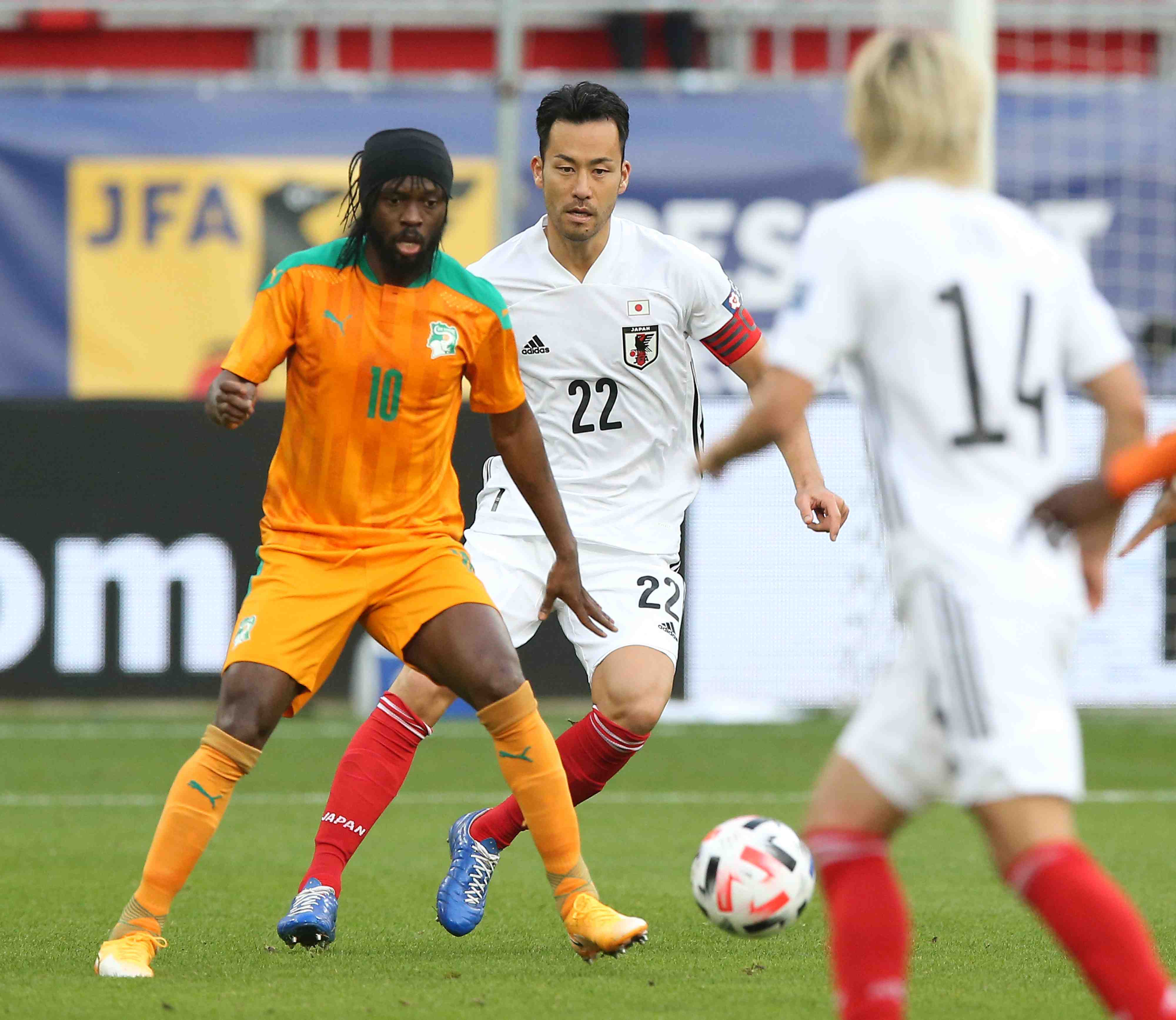 Japan men's soccer team's two friendlies against Cameroon and Ivory Coast